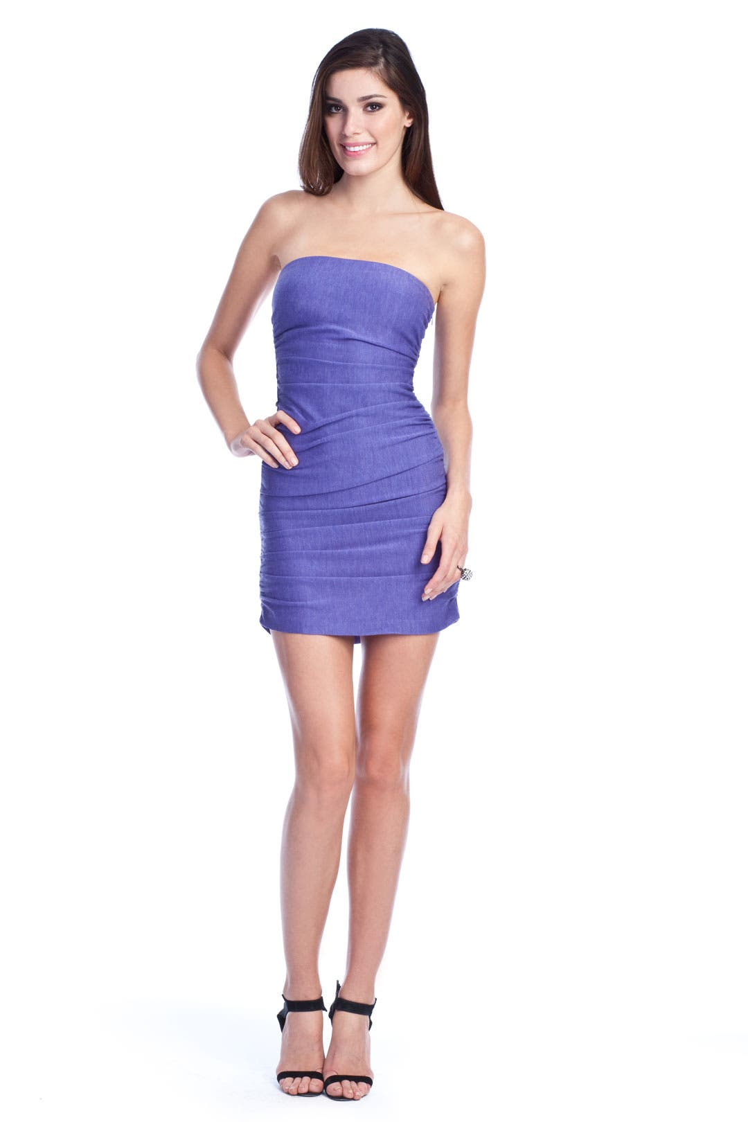 Ruched Melange Mini by Halston Heritage