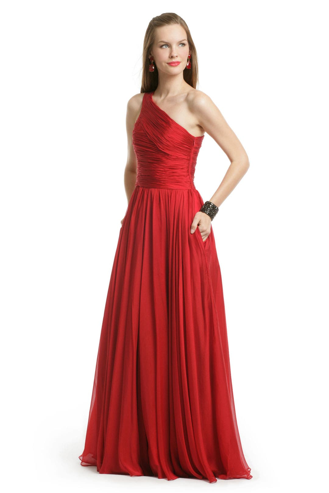 Singapore Sensation Gown by Halston Heritage