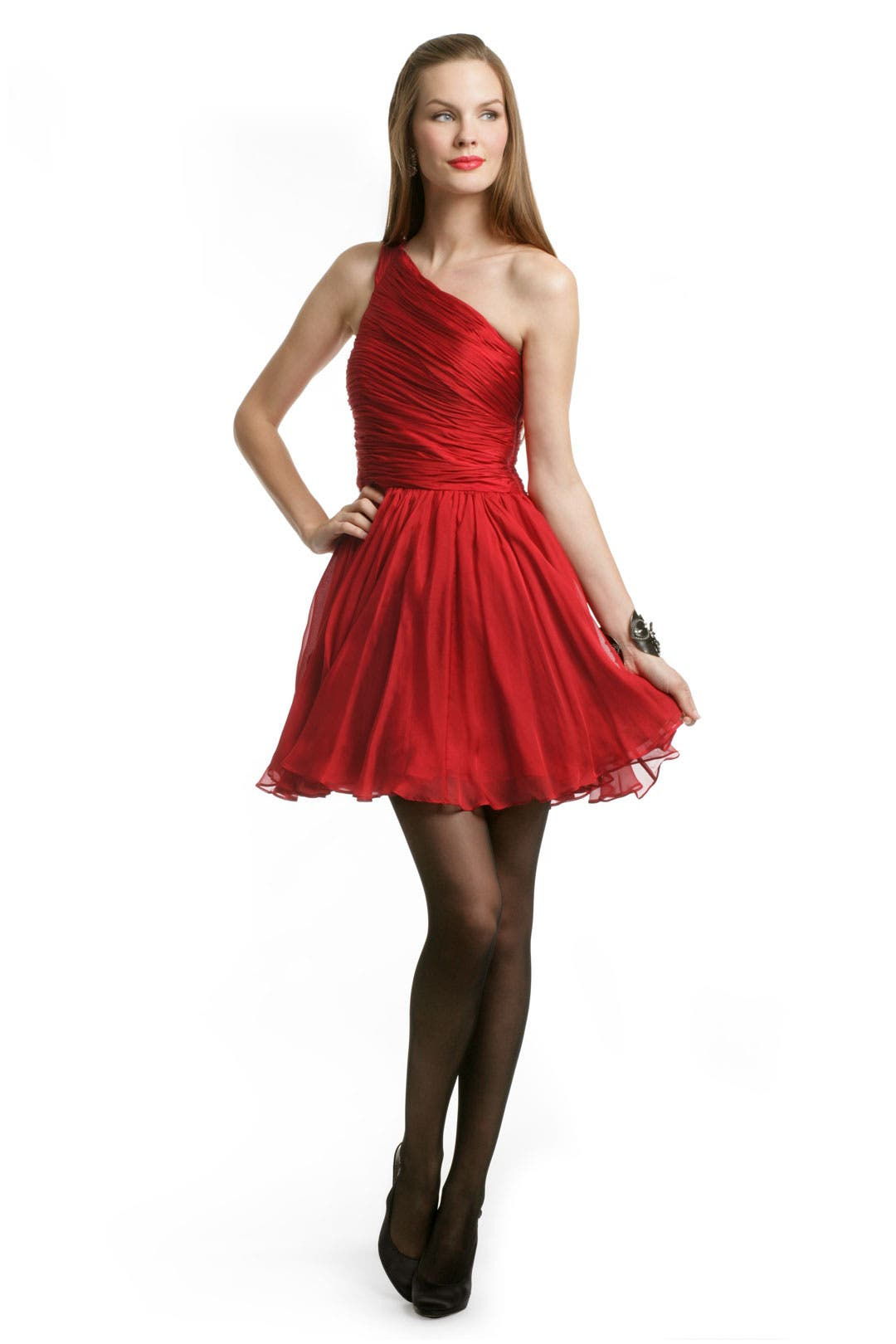 Sizzling Red Dress by Halston Heritage