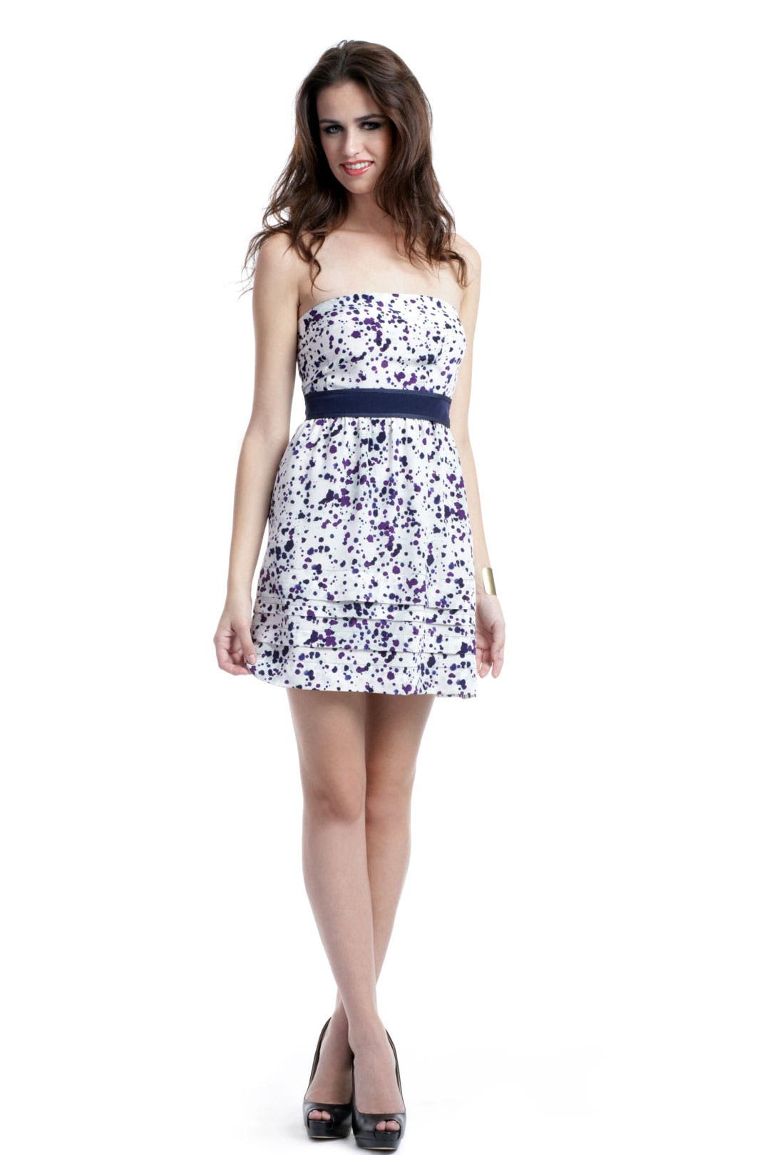 Paint Splatter Dress by Hanii Y
