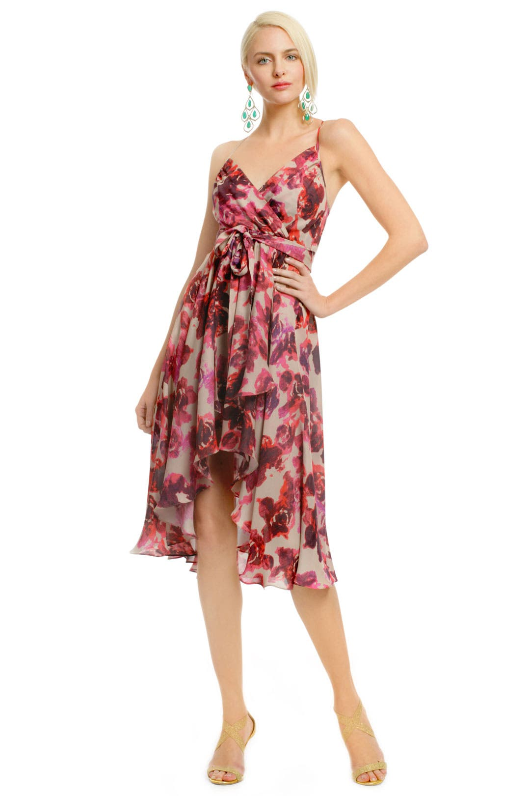 Electric Rose Dress by Haute Hippie