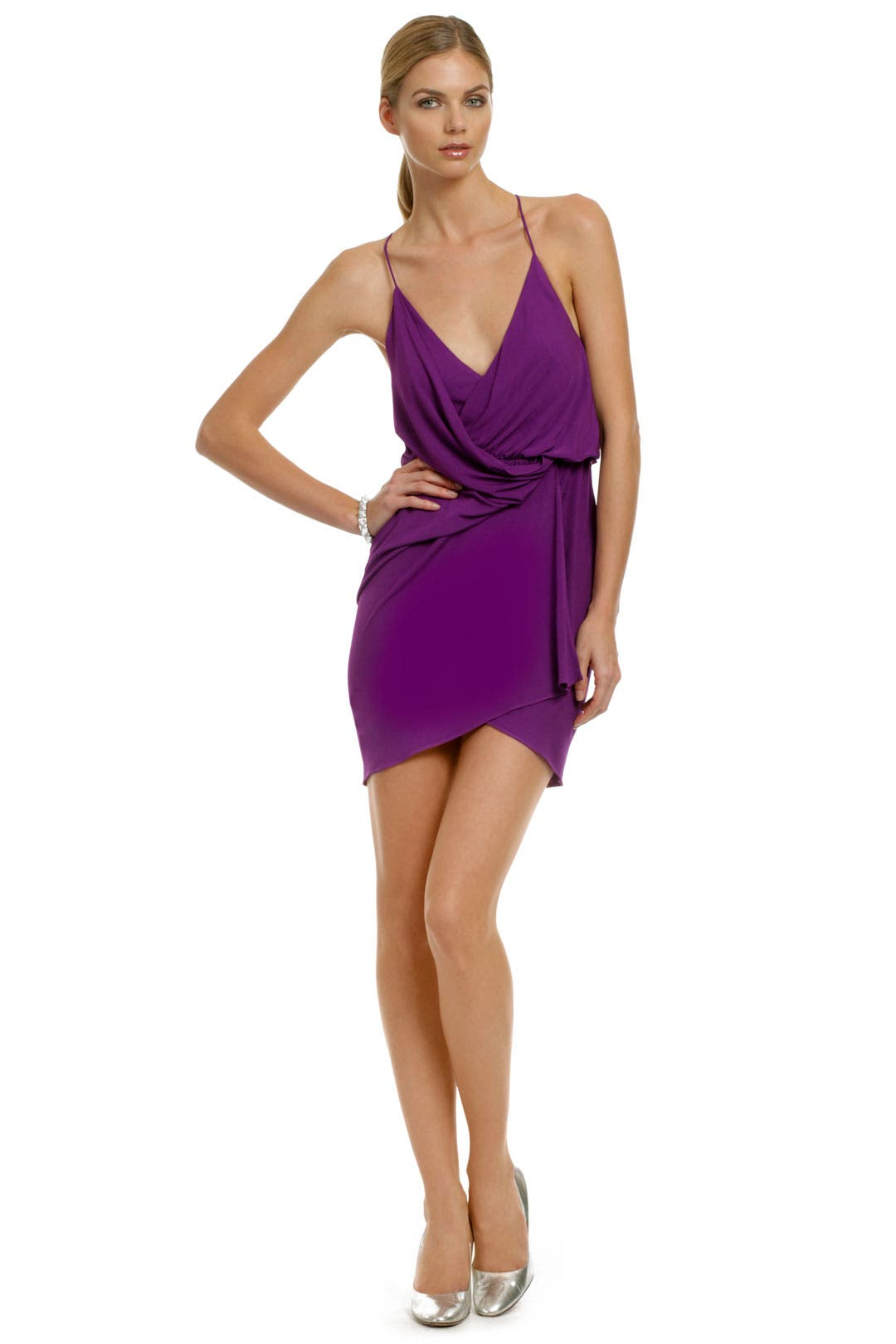 Purple Rage Dress by Haute Hippie