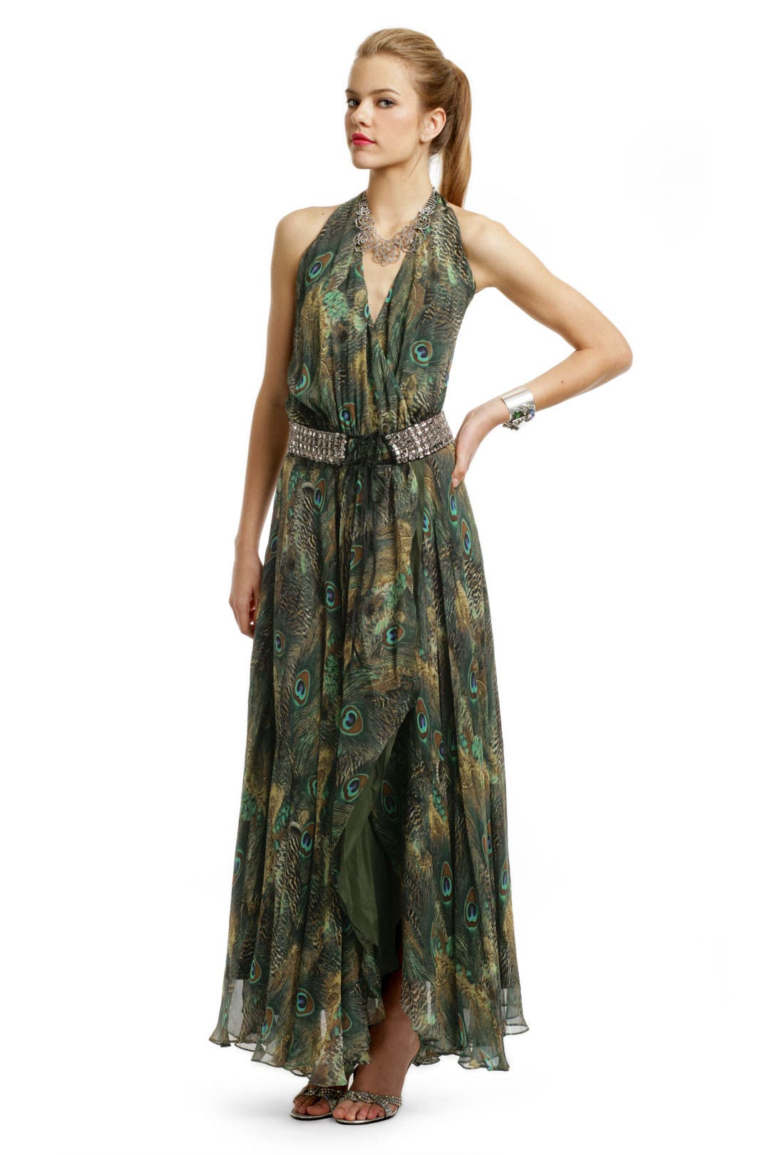 Queen of the Jungle Gown by Haute Hippie