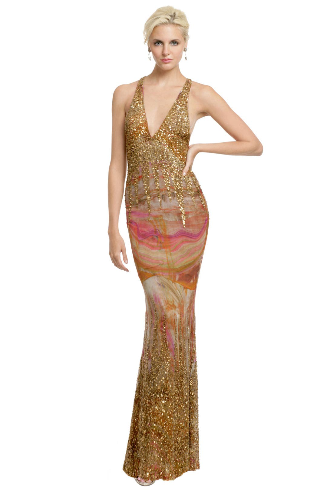 Queen of the Nile Gown by Haute Hippie
