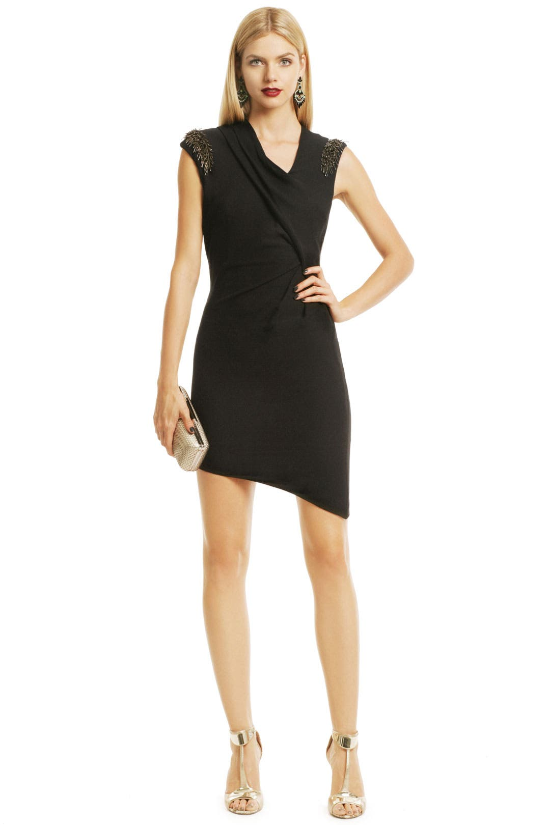 Get Spikey Dress by Helmut Lang