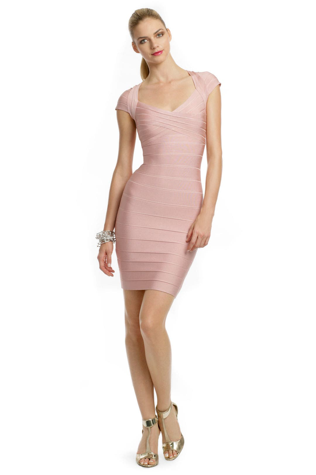 Bed of Roses Dress by Hervé Léger