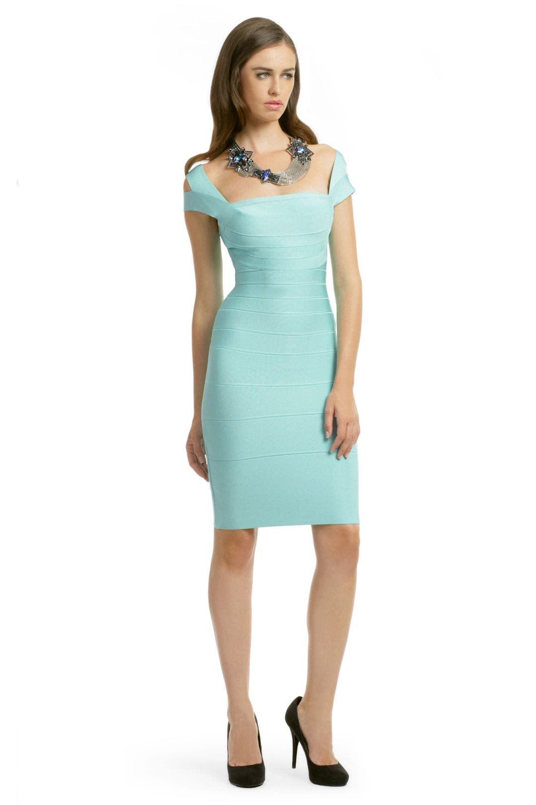 Mint Macaroon Dress by Hervé Léger