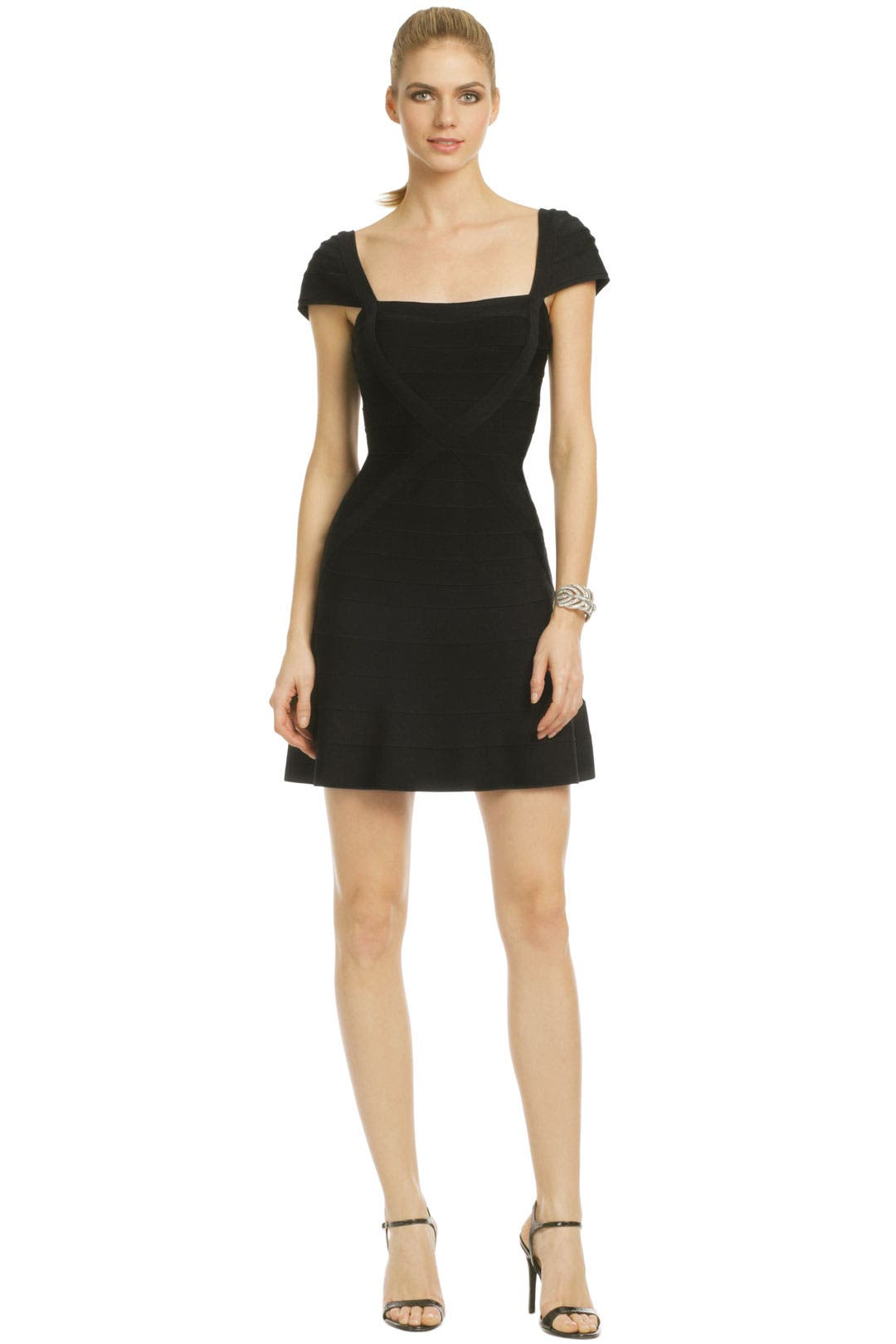 Noir Hot Commodity Dress by Hervé Léger