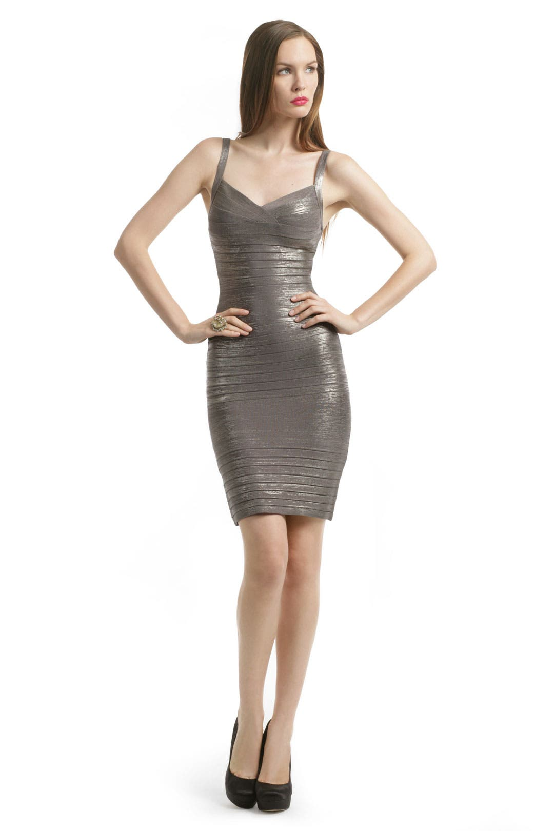 Sip and Shine Martini Dress by Hervé Léger