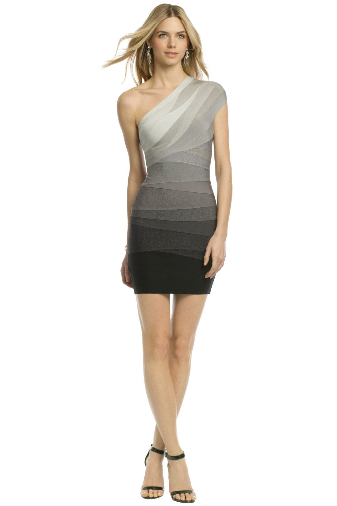 Stormy Skies Bandage Dress by Hervé Léger