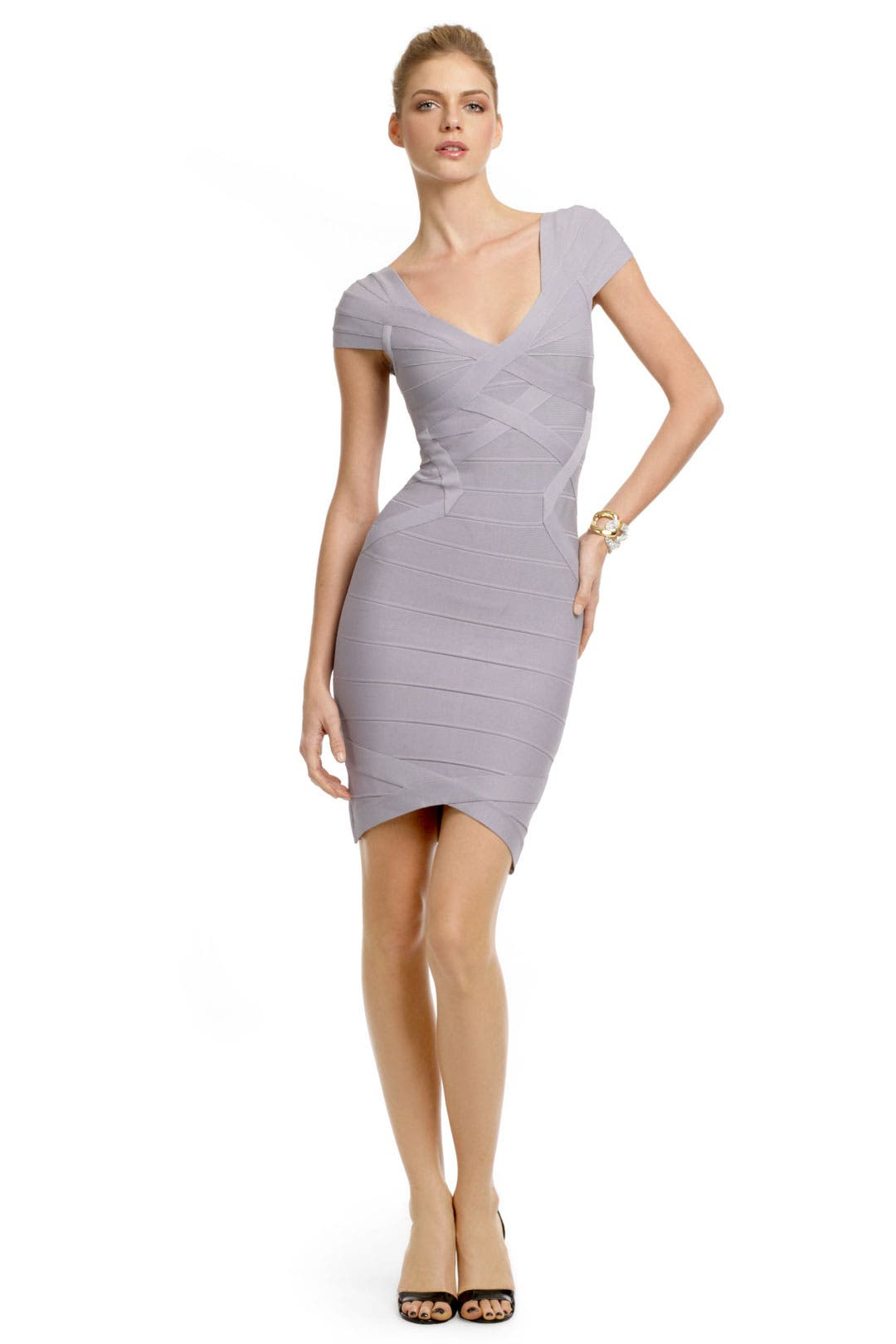 Sugar Plum Bandage Dress by Hervé Léger