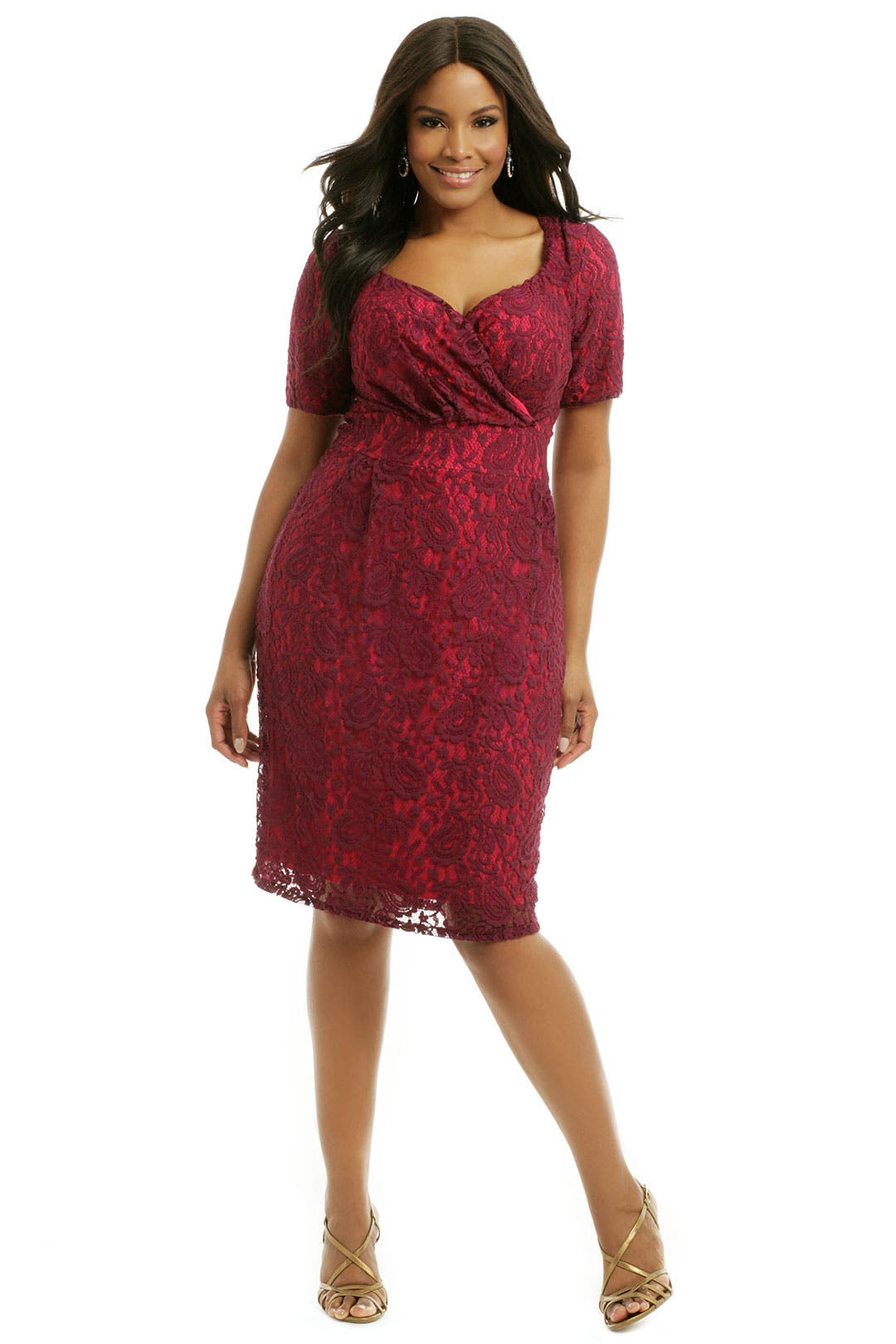 Berry Melina Dress by Igigi