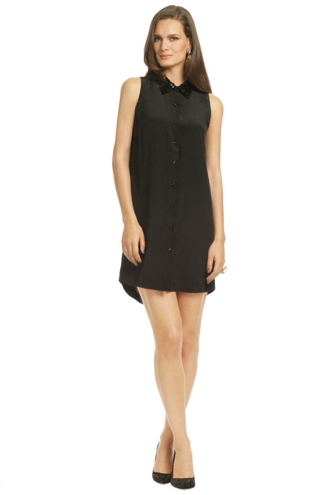 Phantom Sequin Shirt Dress by kate spade new york