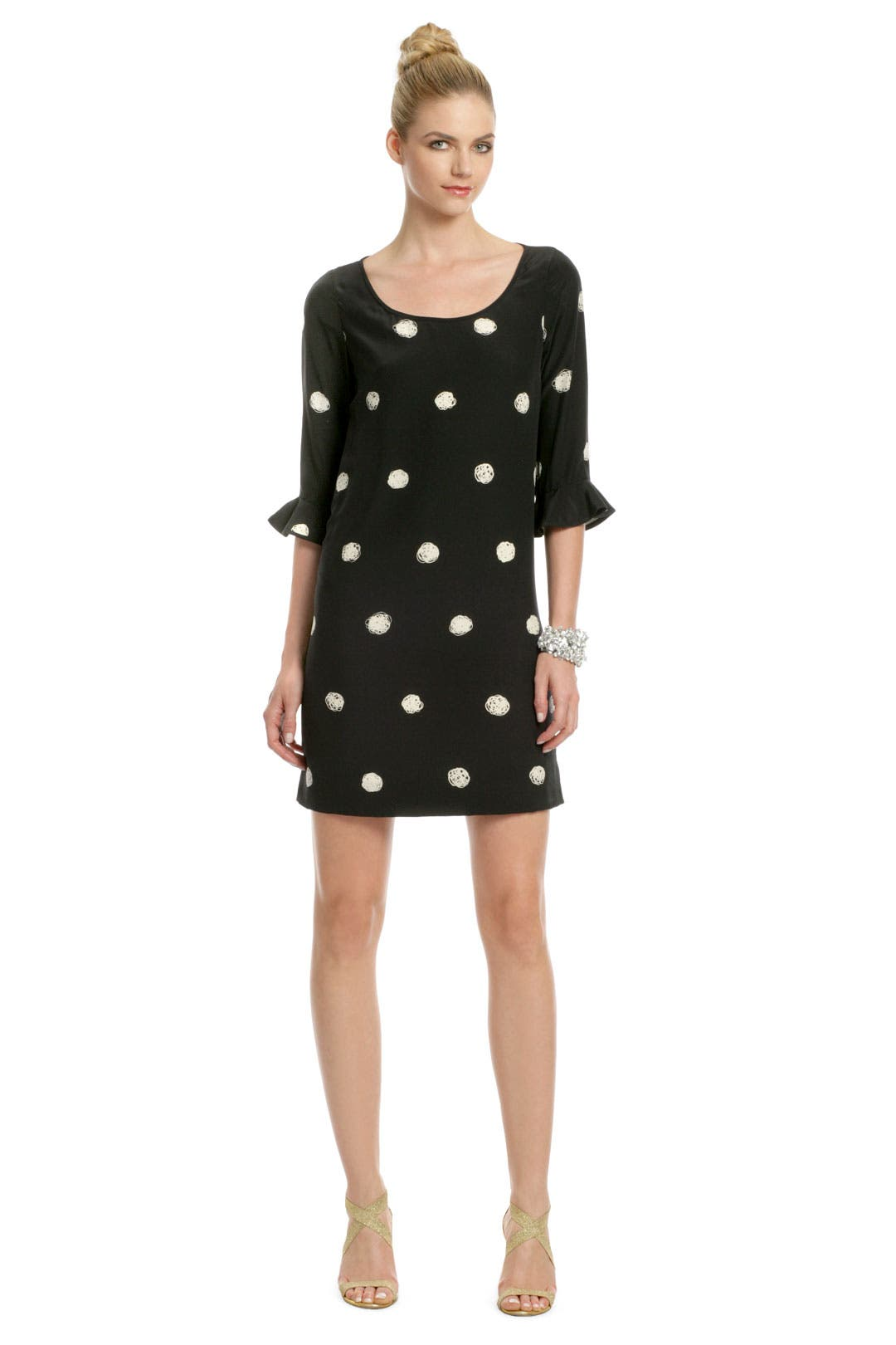 Scribble Scrabble Dress by kate spade new york