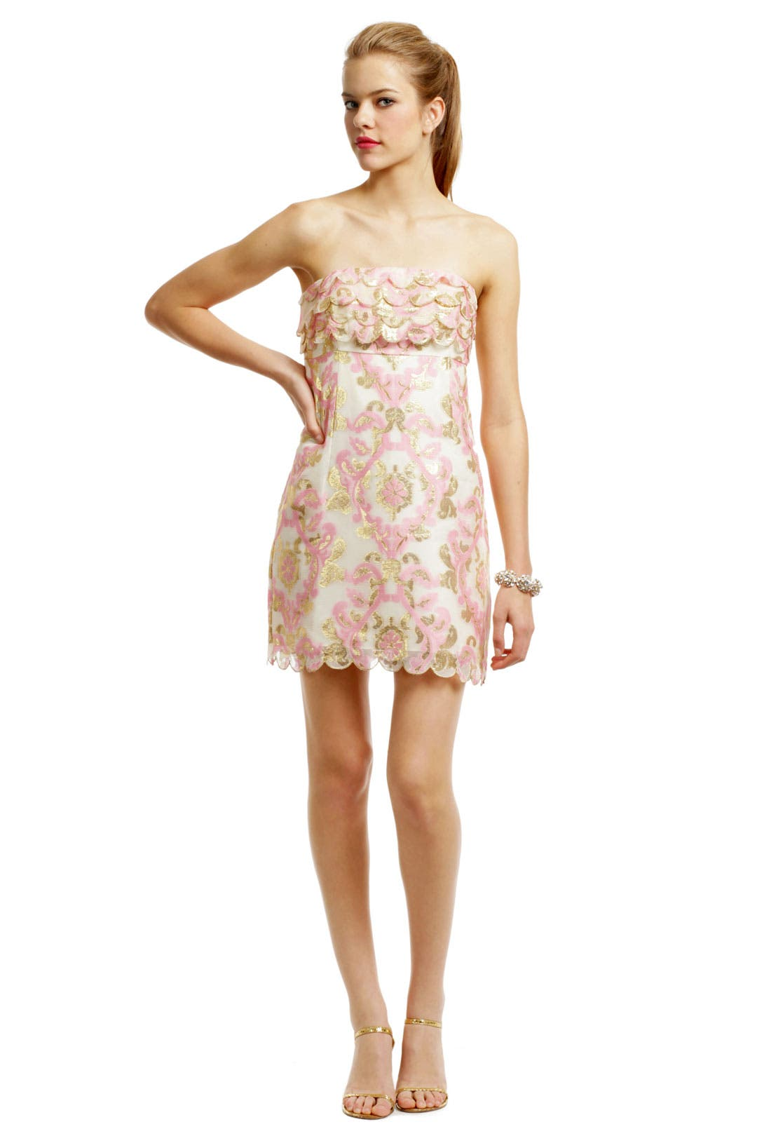 Celina Scallop Dress by Lilly Pulitzer