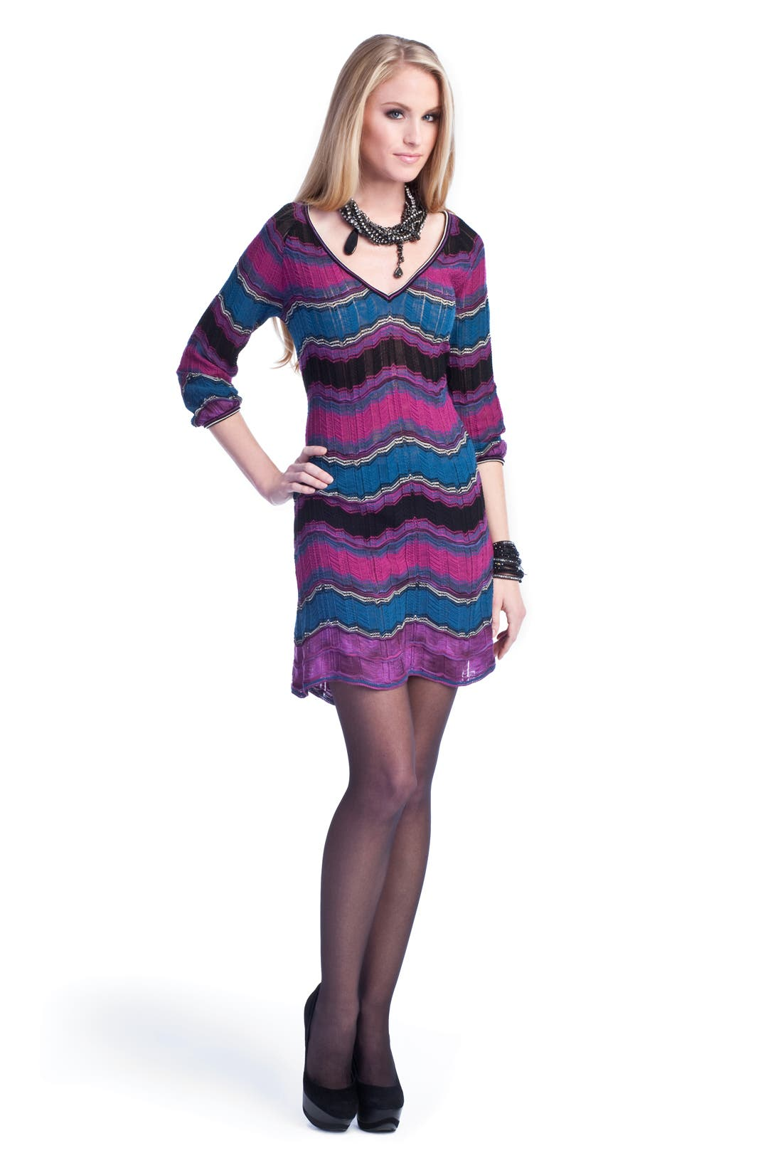 Maze Madness Dress by M Missoni
