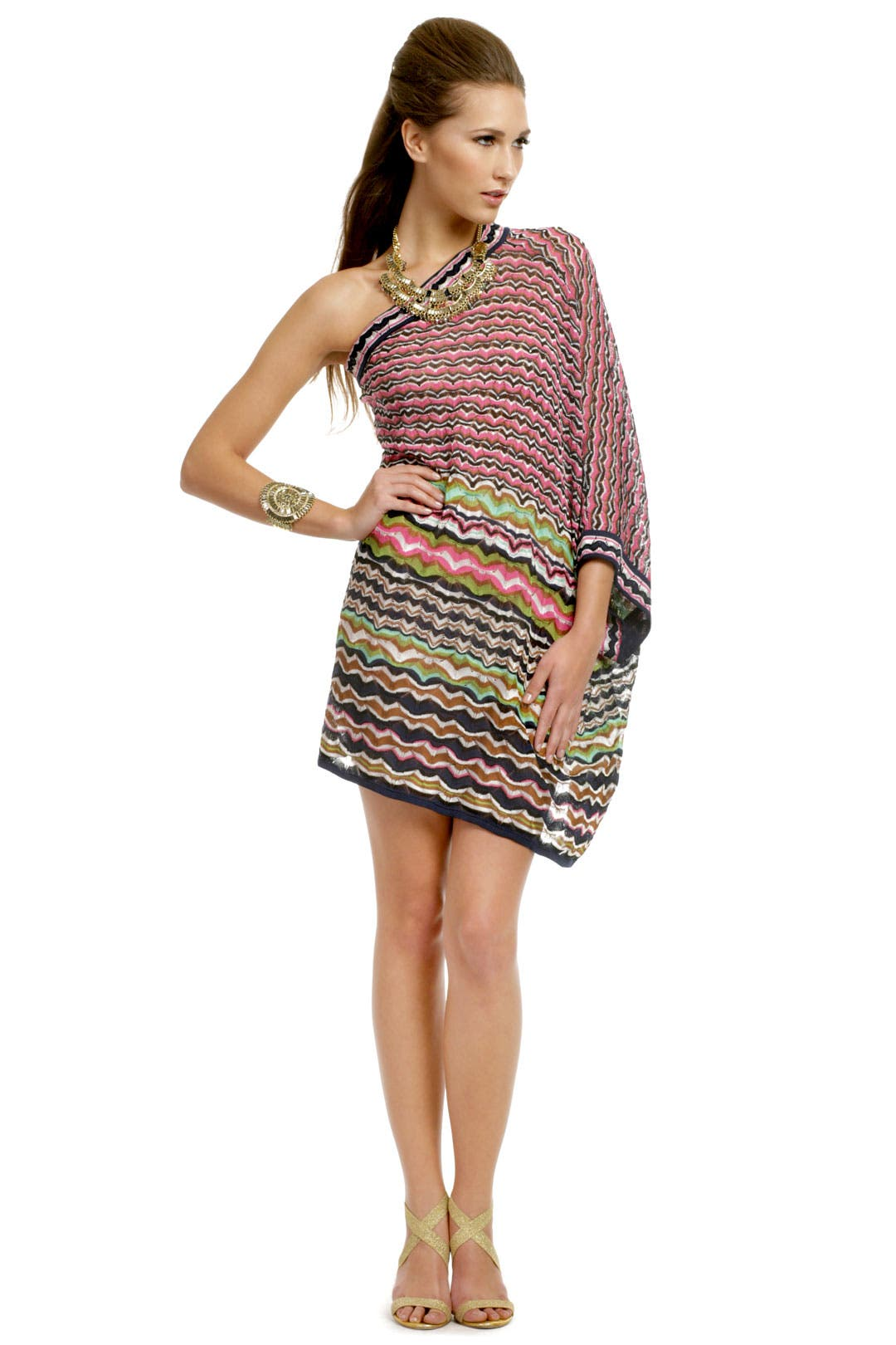 Portofino Poncho Dress by M Missoni
