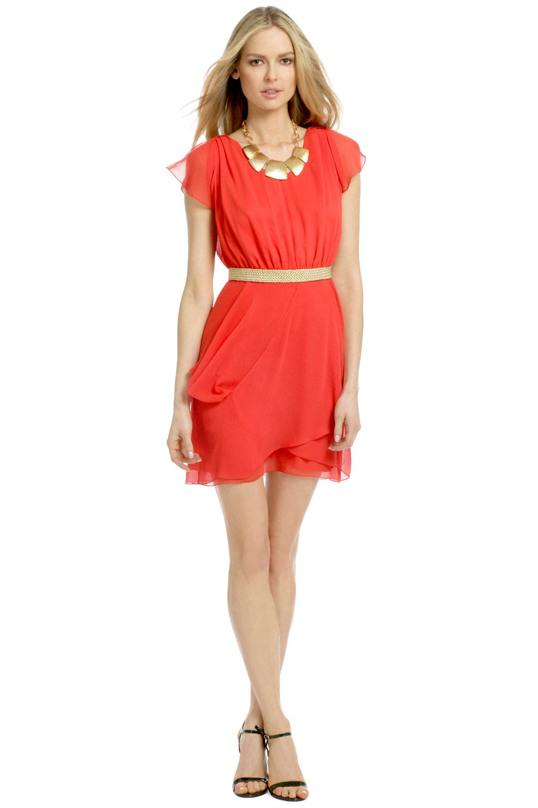 Fierce Flame Dress by Mark & James by Badgley Mischka