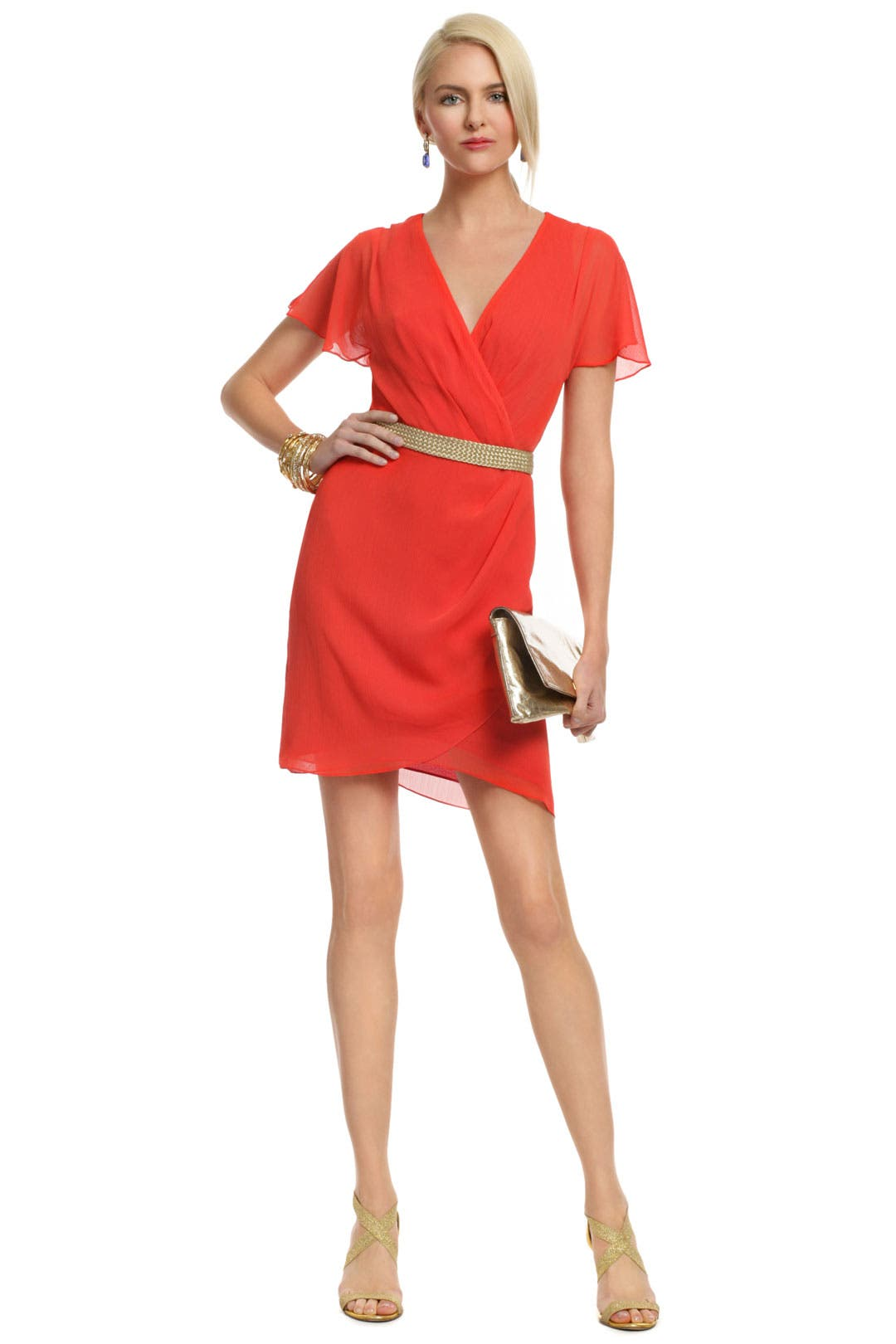 Spread Like Wildfire Dress by Mark & James by Badgley Mischka