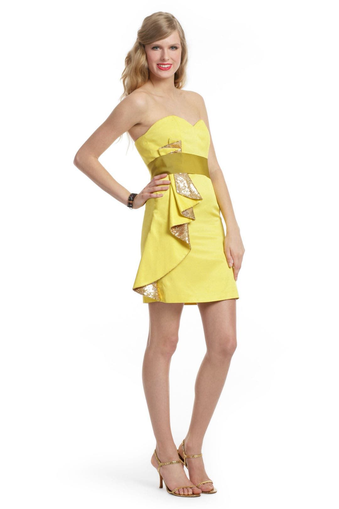 In the Limelight Dress by Mark & James by Badgley Mischka
