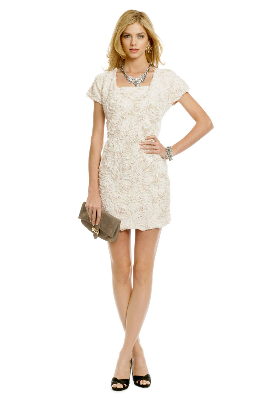 Tie-Back Rose Garden Shift by Mark & James by Badgley Mischka