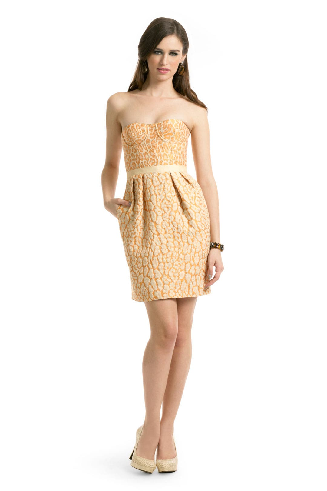 Naranja Leopard Dress by Matthew Williamson