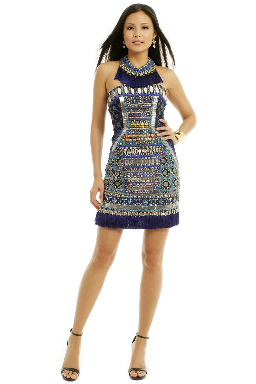Tribal Corset Mini by Matthew Williamson