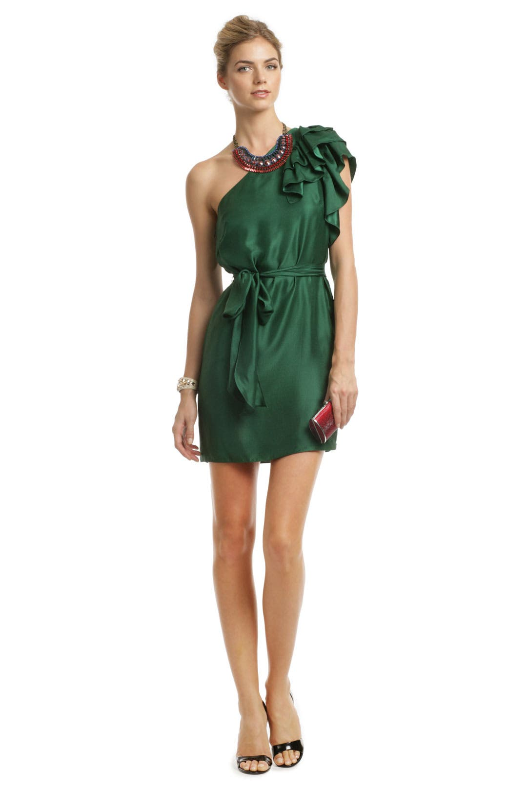 Emerald Valentin Dress by Milly