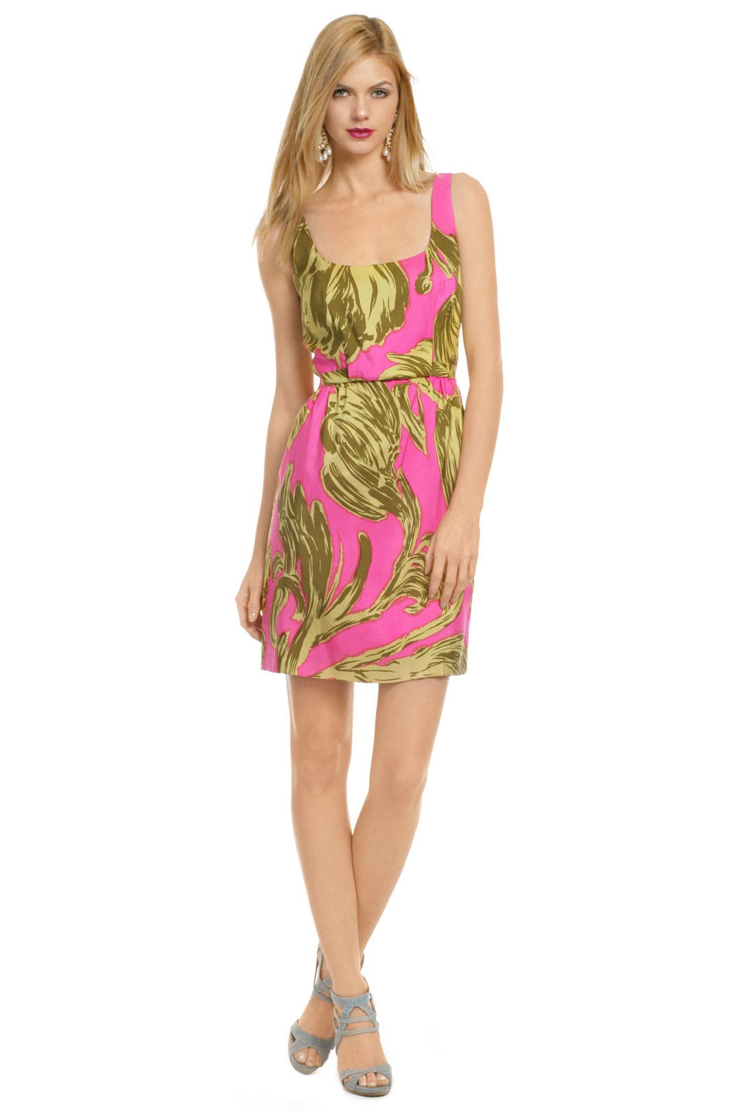 Neon Pink Punch Dress by Milly