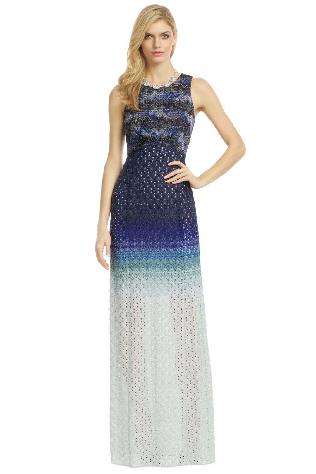 Ocean Ombre Gown by Missoni