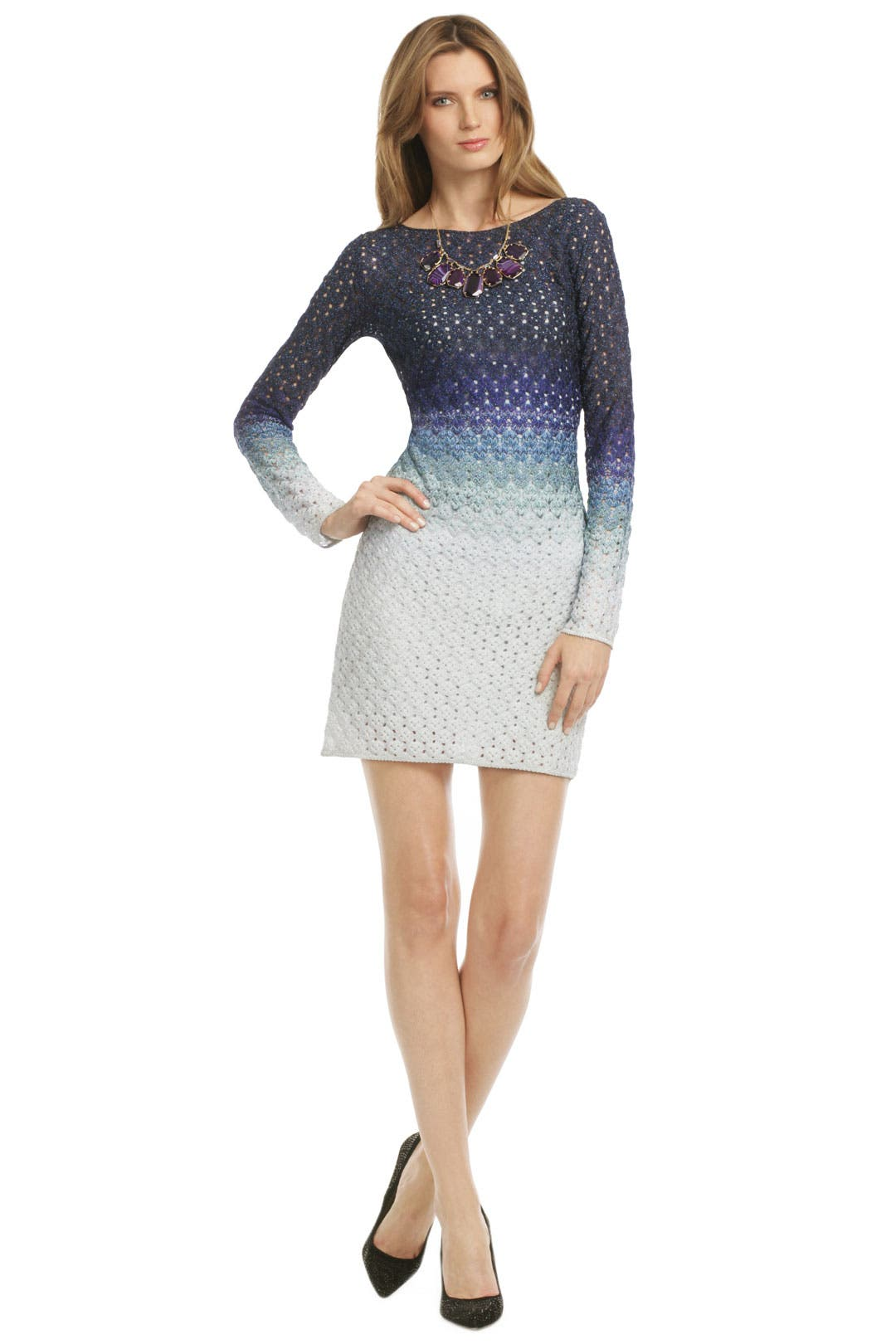 Once In A Blue Moon Dress by Missoni