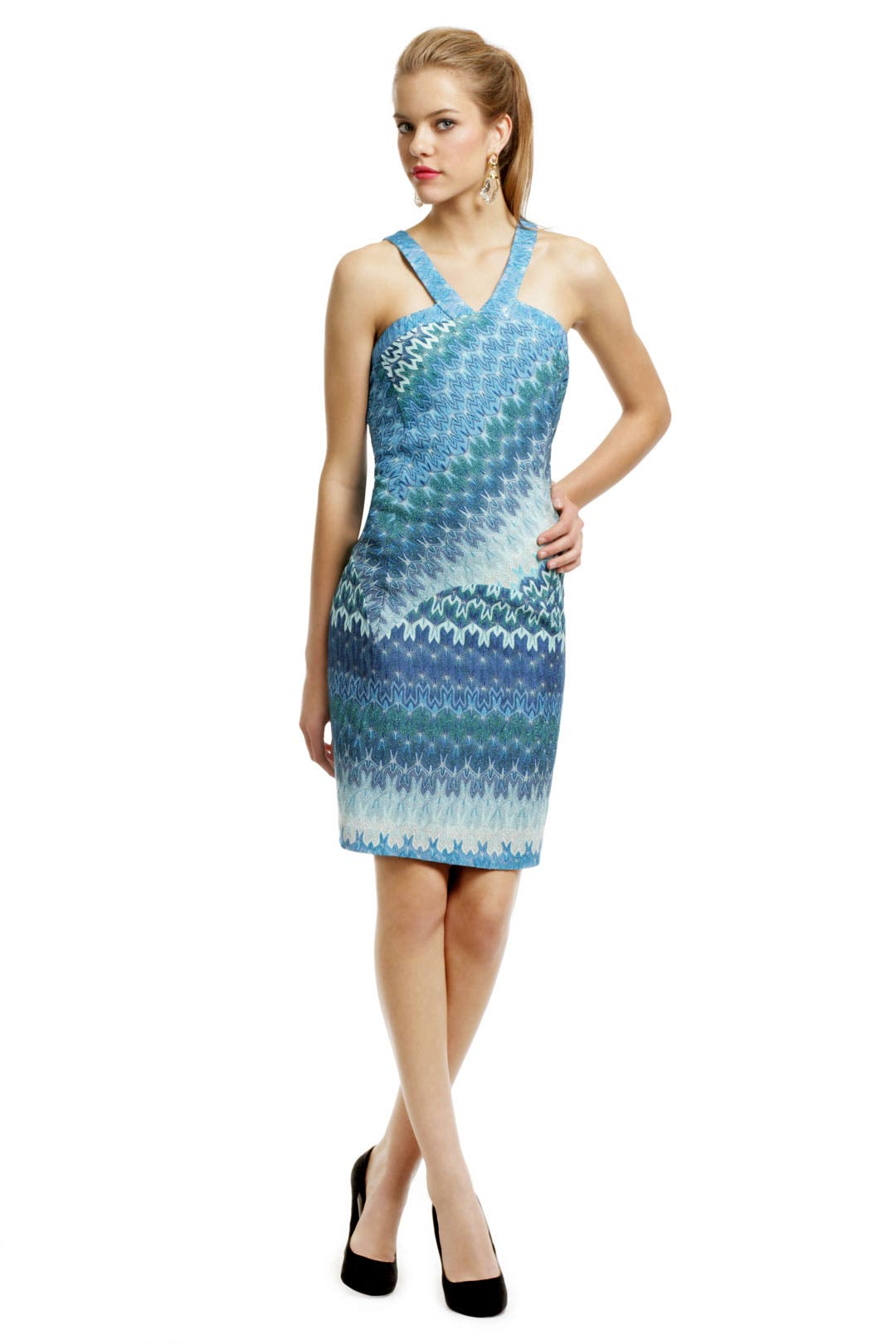 Paulette Lurex Sheath Dress by Missoni