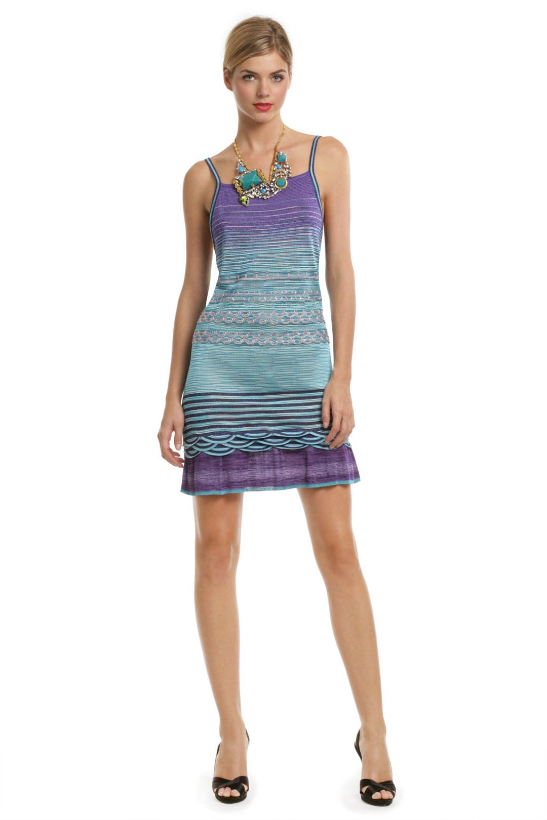 Rosmunda Ombre Shift Dress by Missoni