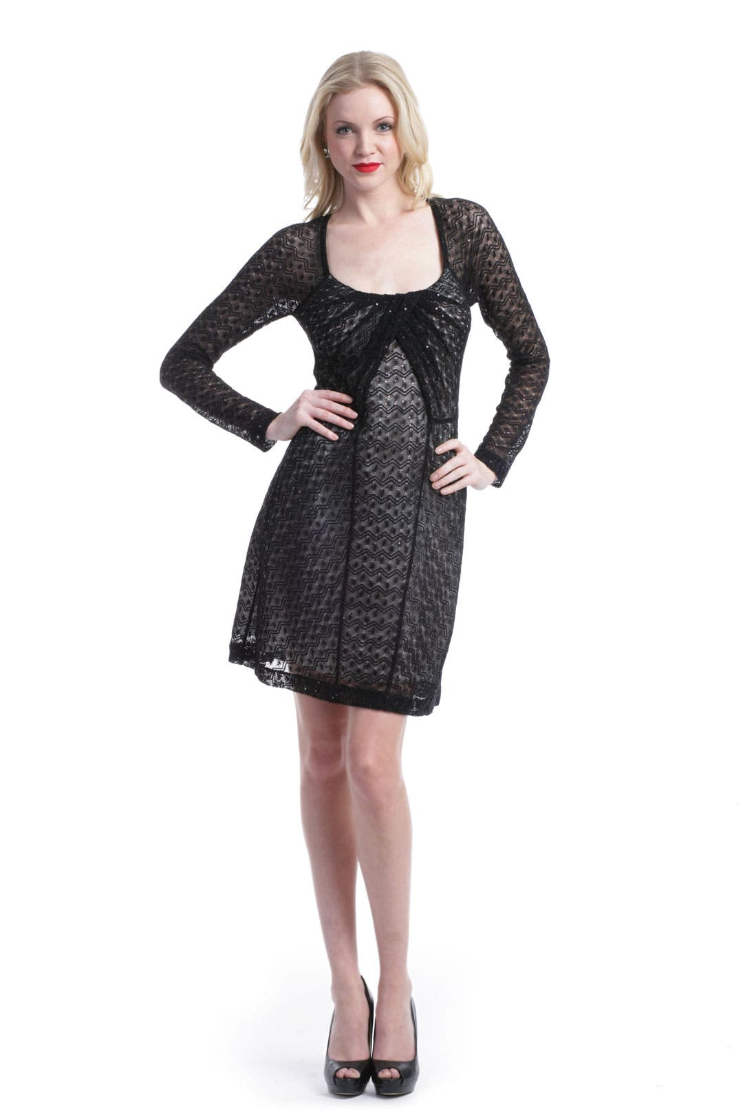 Sequin Scoop Dress by Missoni