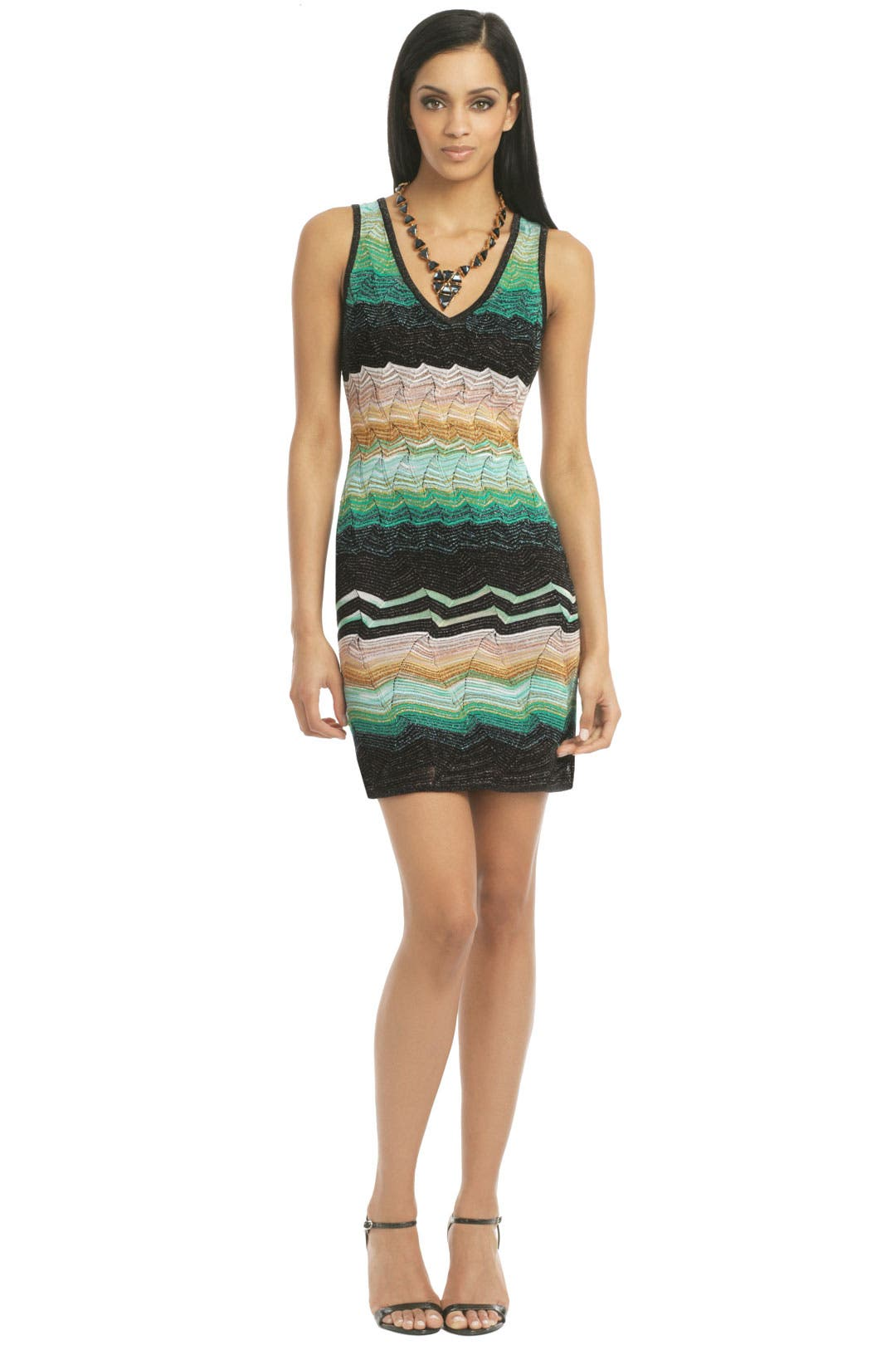 Spearmint Shimmer Dress by Missoni