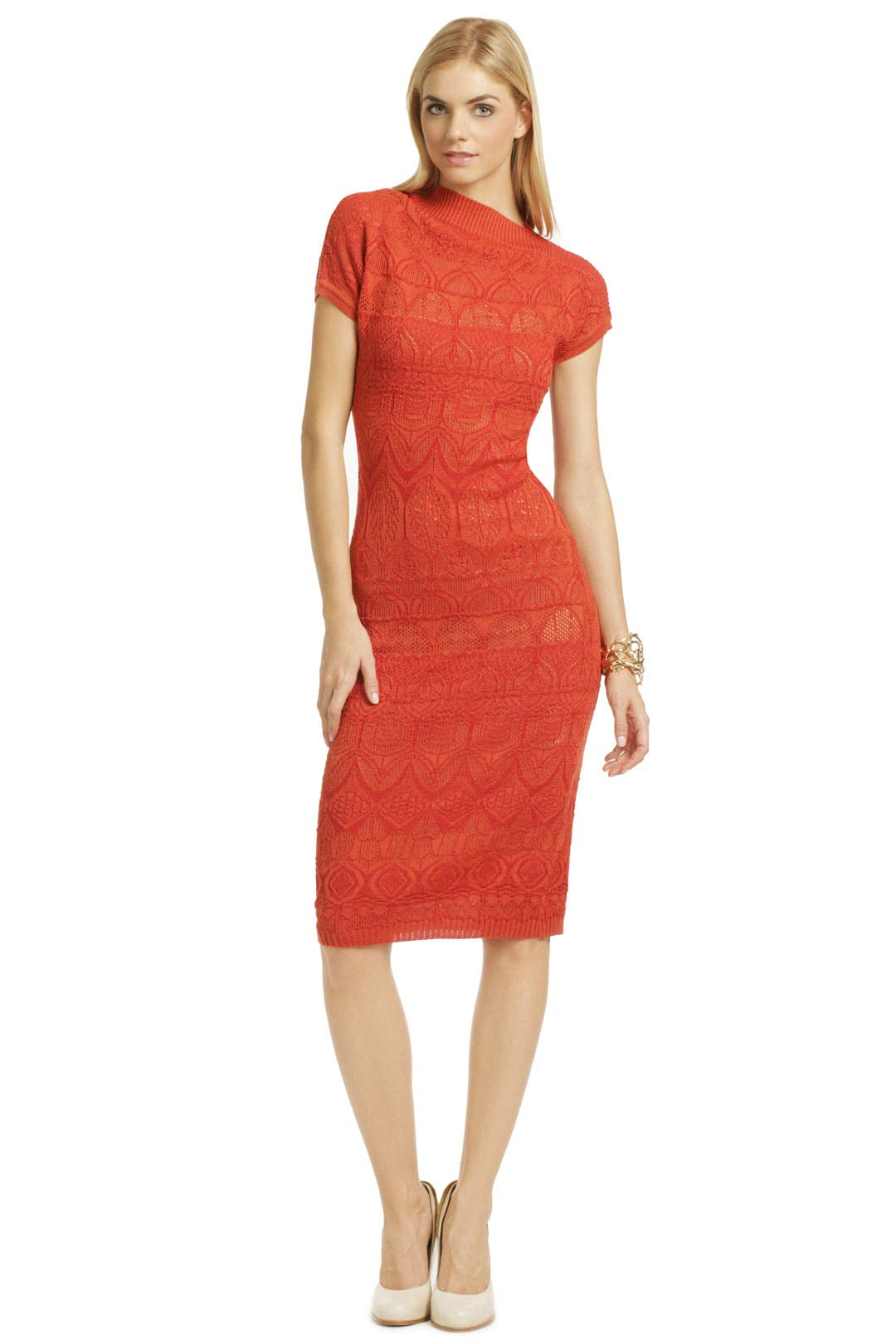 Sunburnt Knit Sheath by Missoni