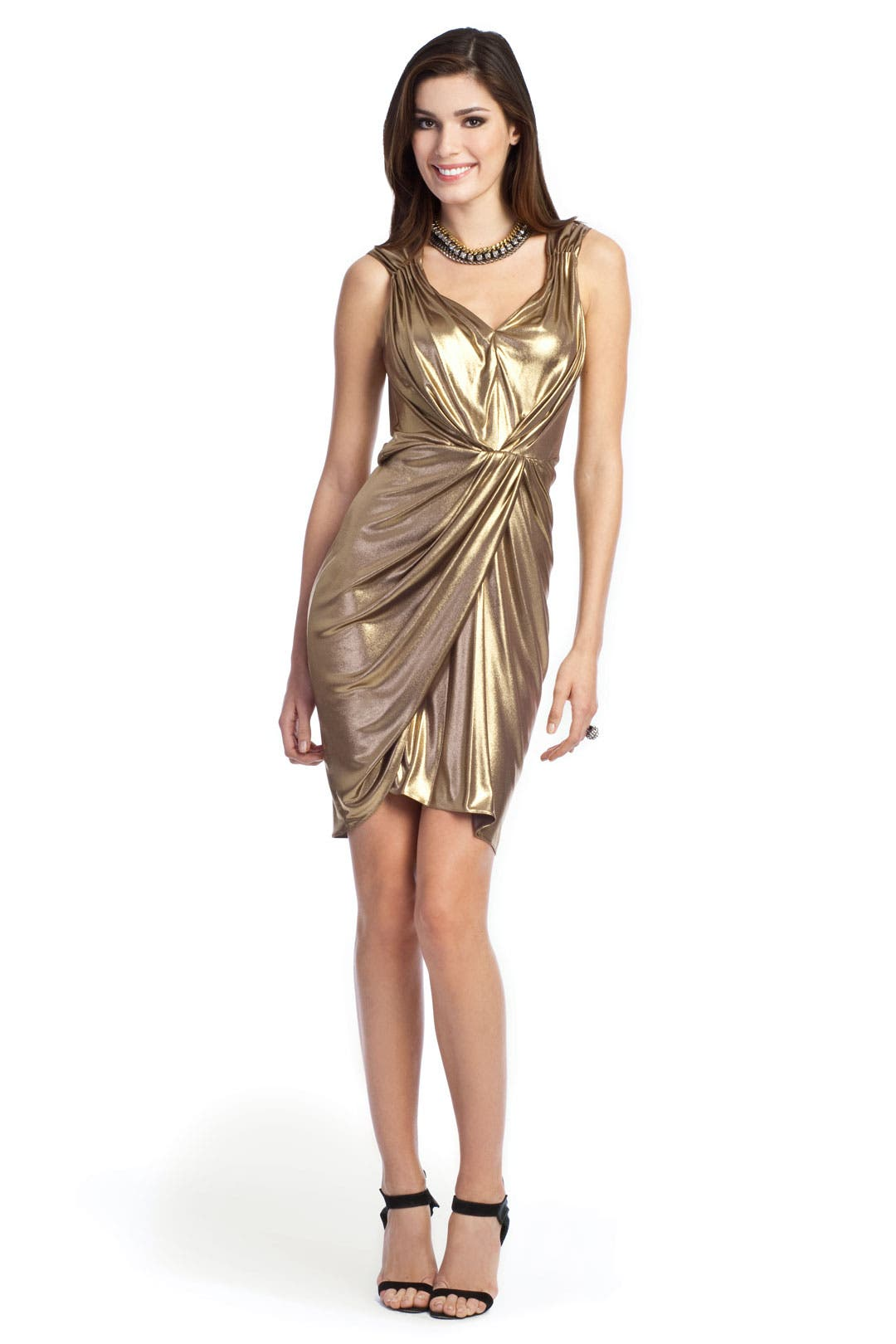 Gold Rush Dress by Moschino Cheap And Chic