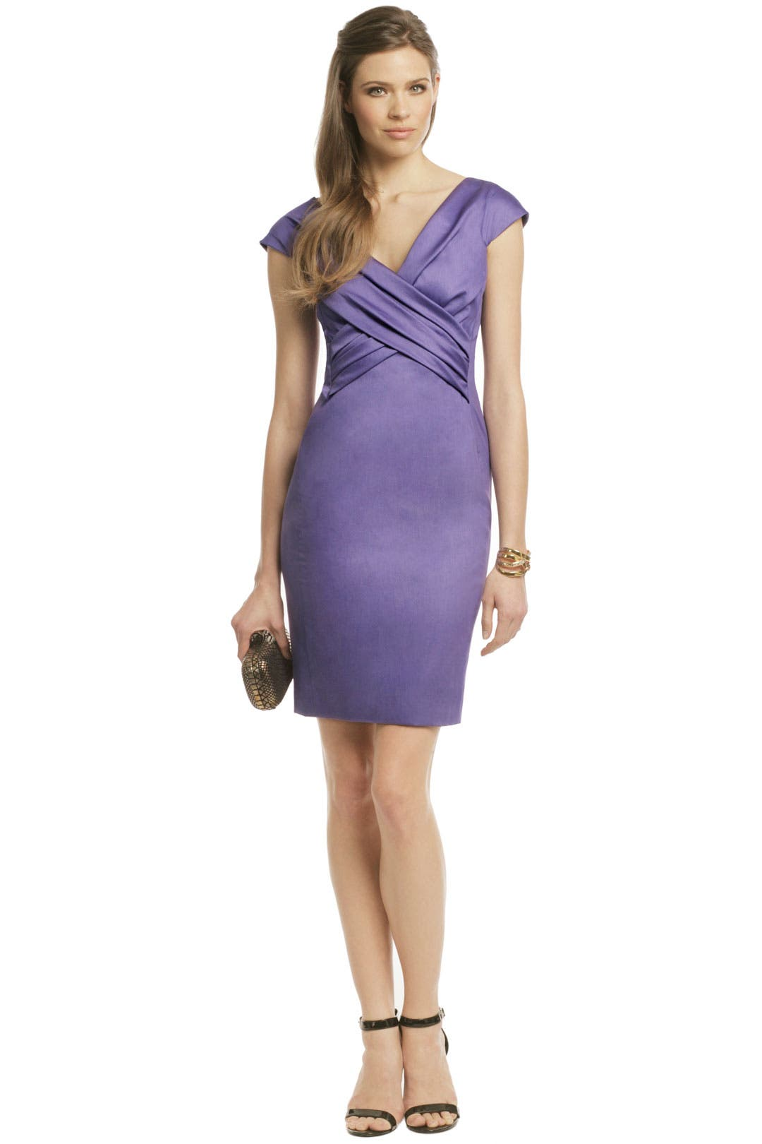 Purple in Power Dress by Moschino