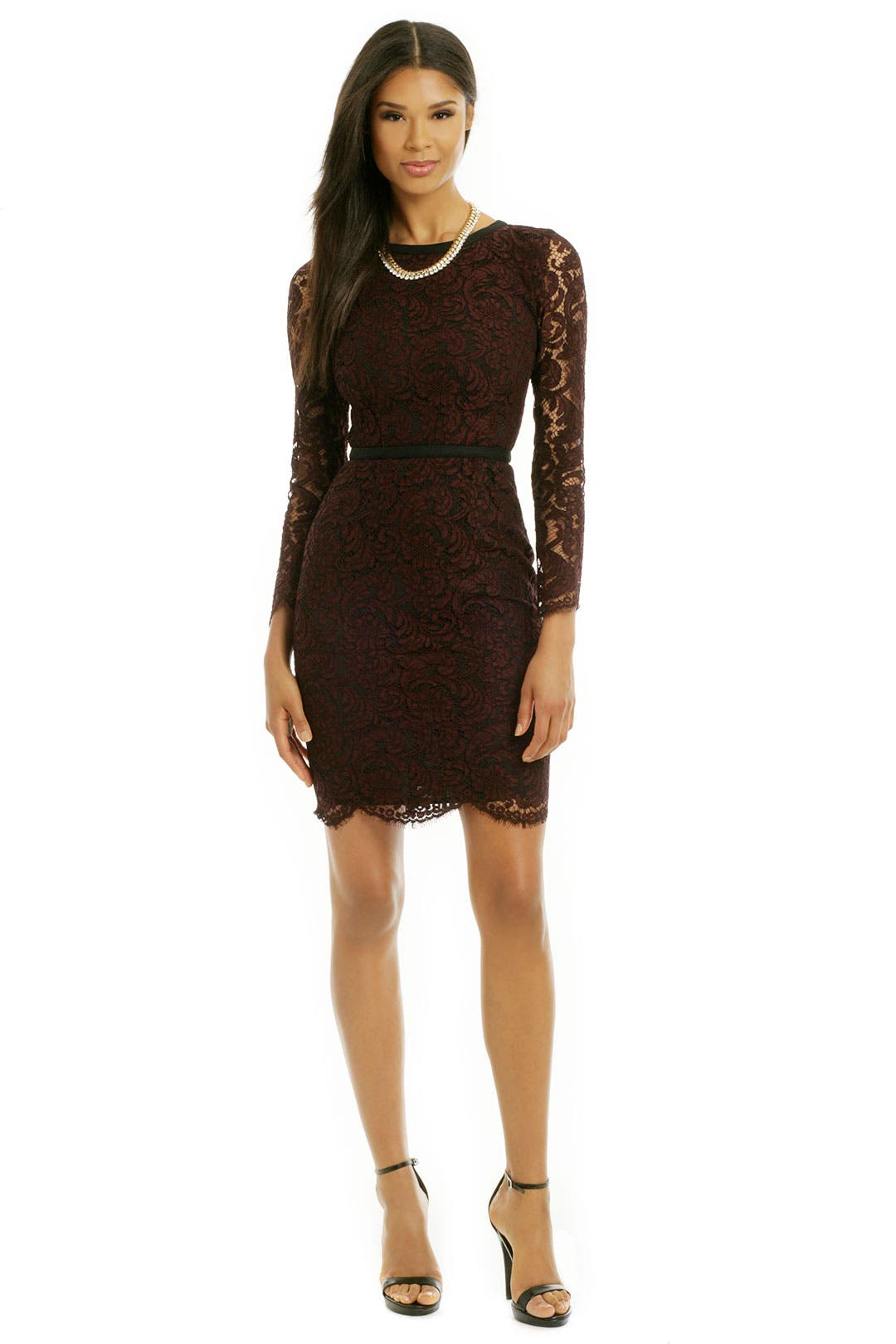 Lace It Back Sheath by MSGM