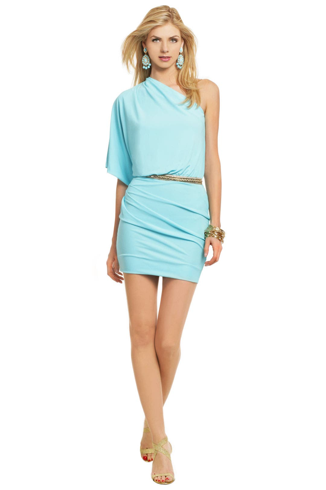 Powder Blue Allegra Dress by MSGM