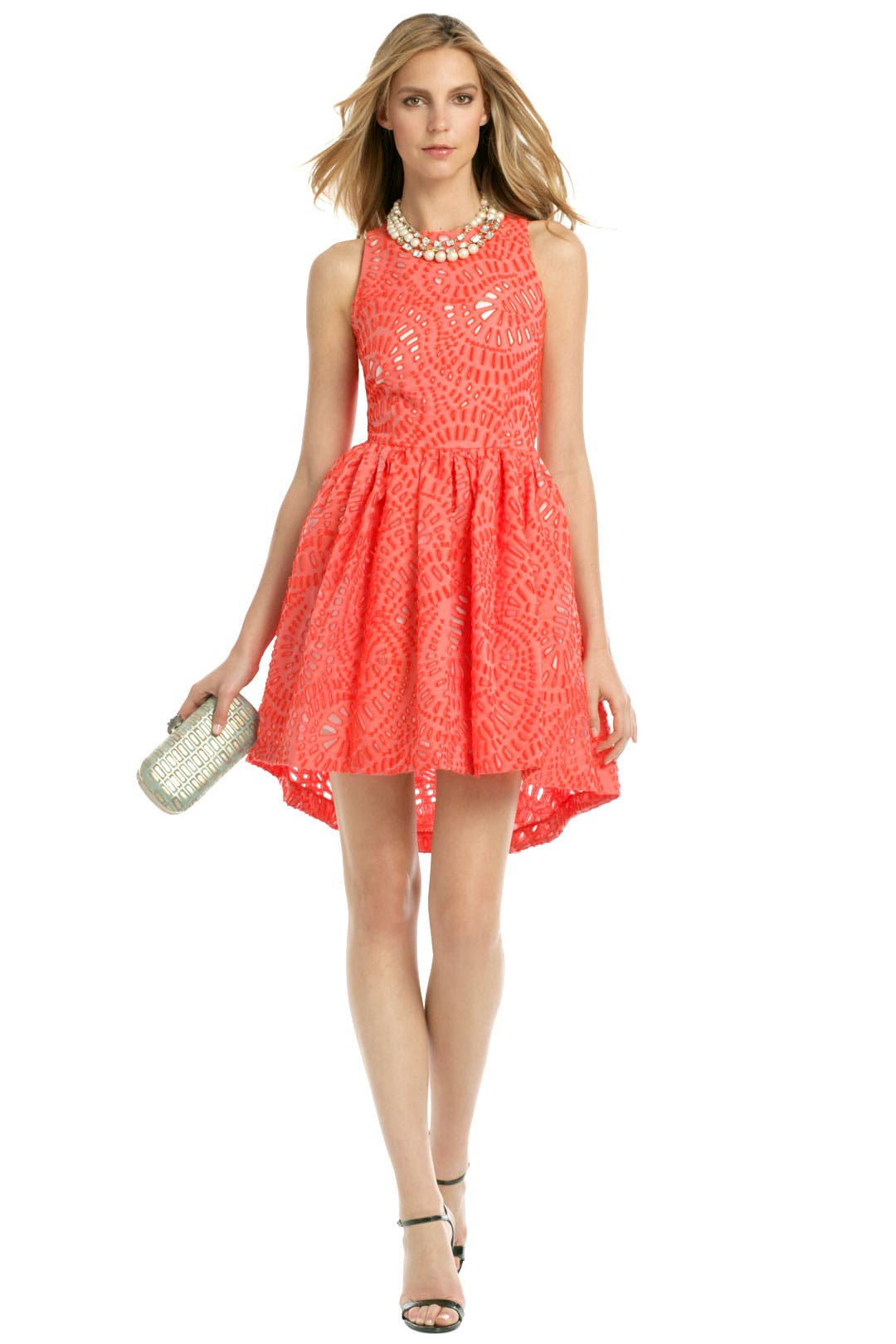 Watermelon Seed Dress by MSGM