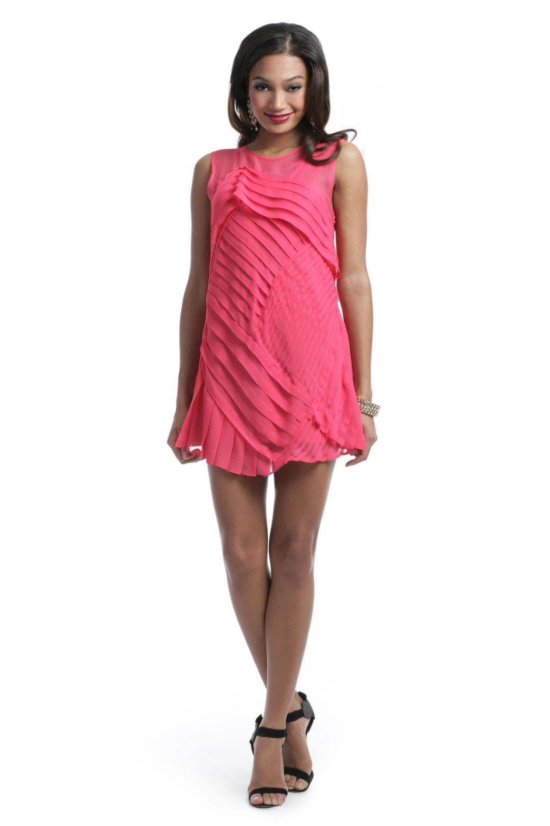 All Tuckered Out Dress by Nanette Lepore