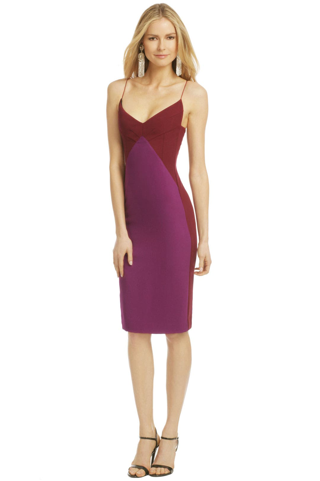 Bonded Berry Dress by Narciso Rodriguez