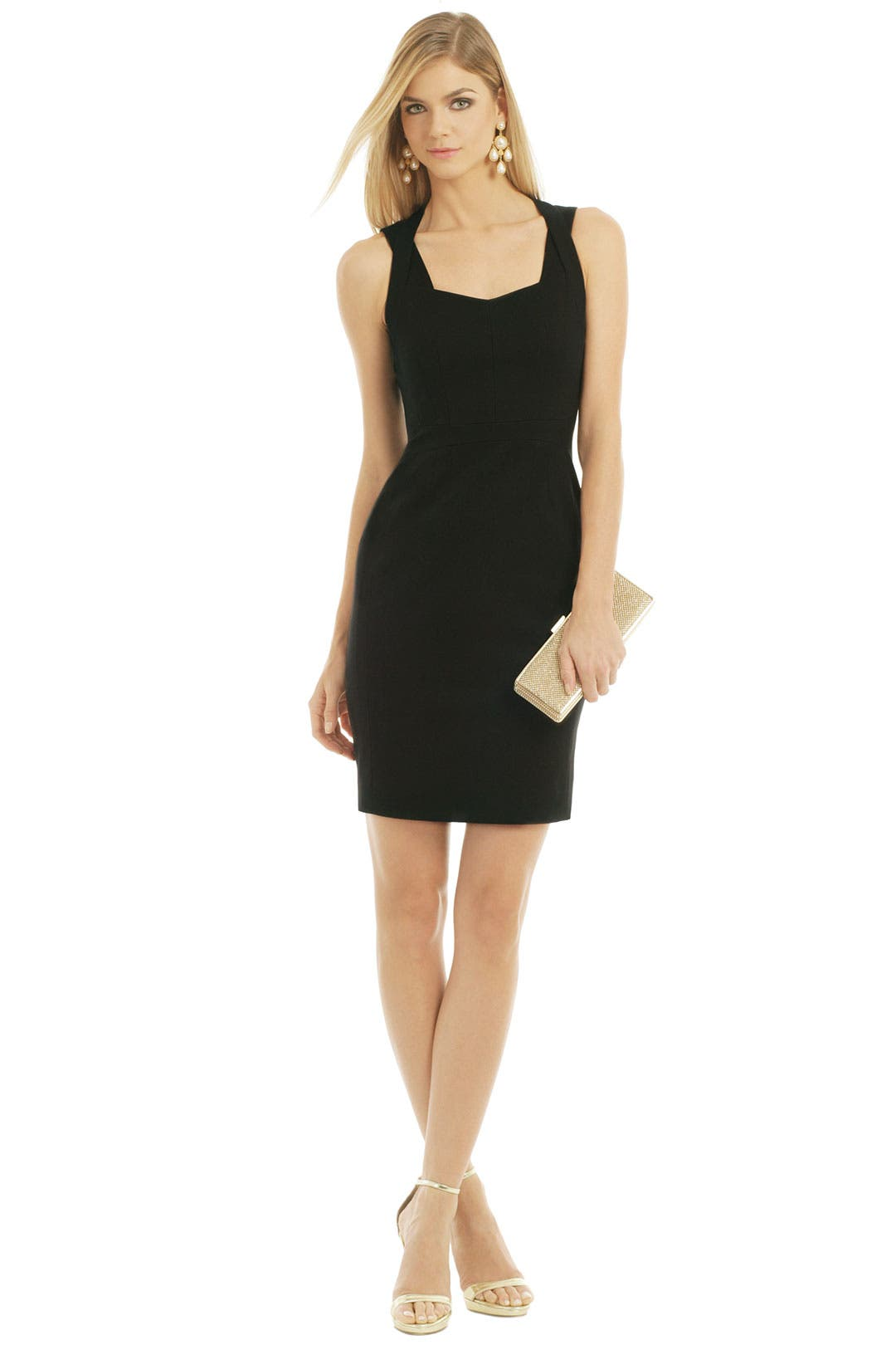 Changing Lanes Cutout Dress by Narciso Rodriguez