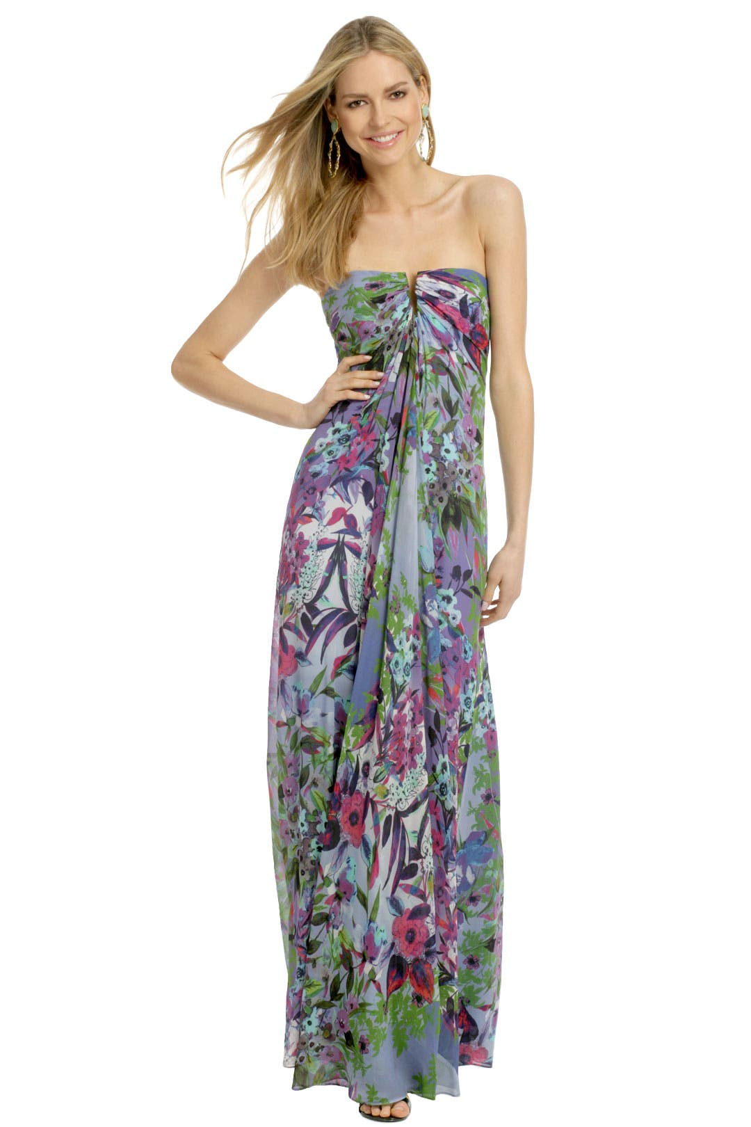 Angelina Wildflower Maxi by Nicole Miller