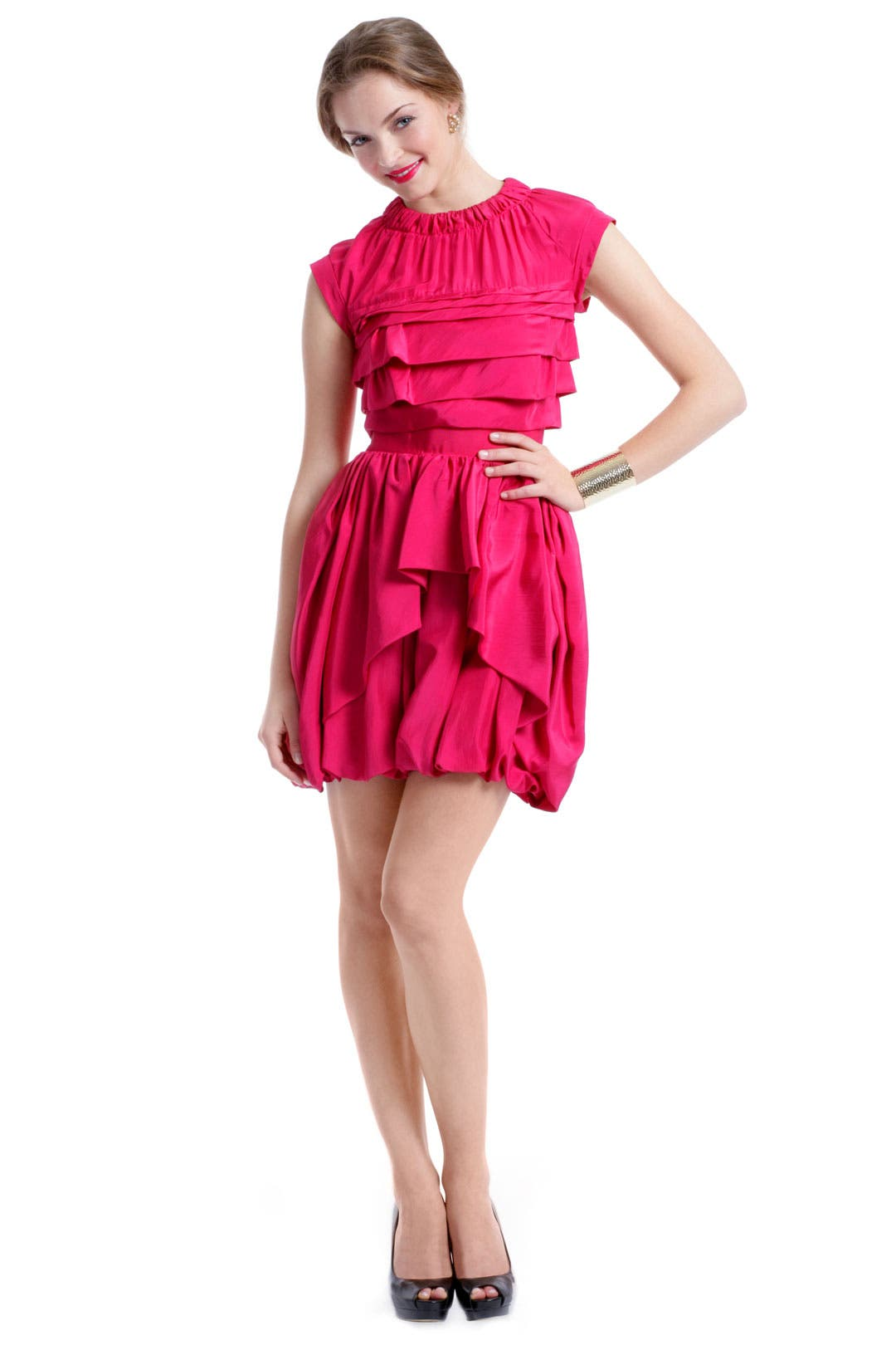 Bashful Berry Dress by Nina Ricci