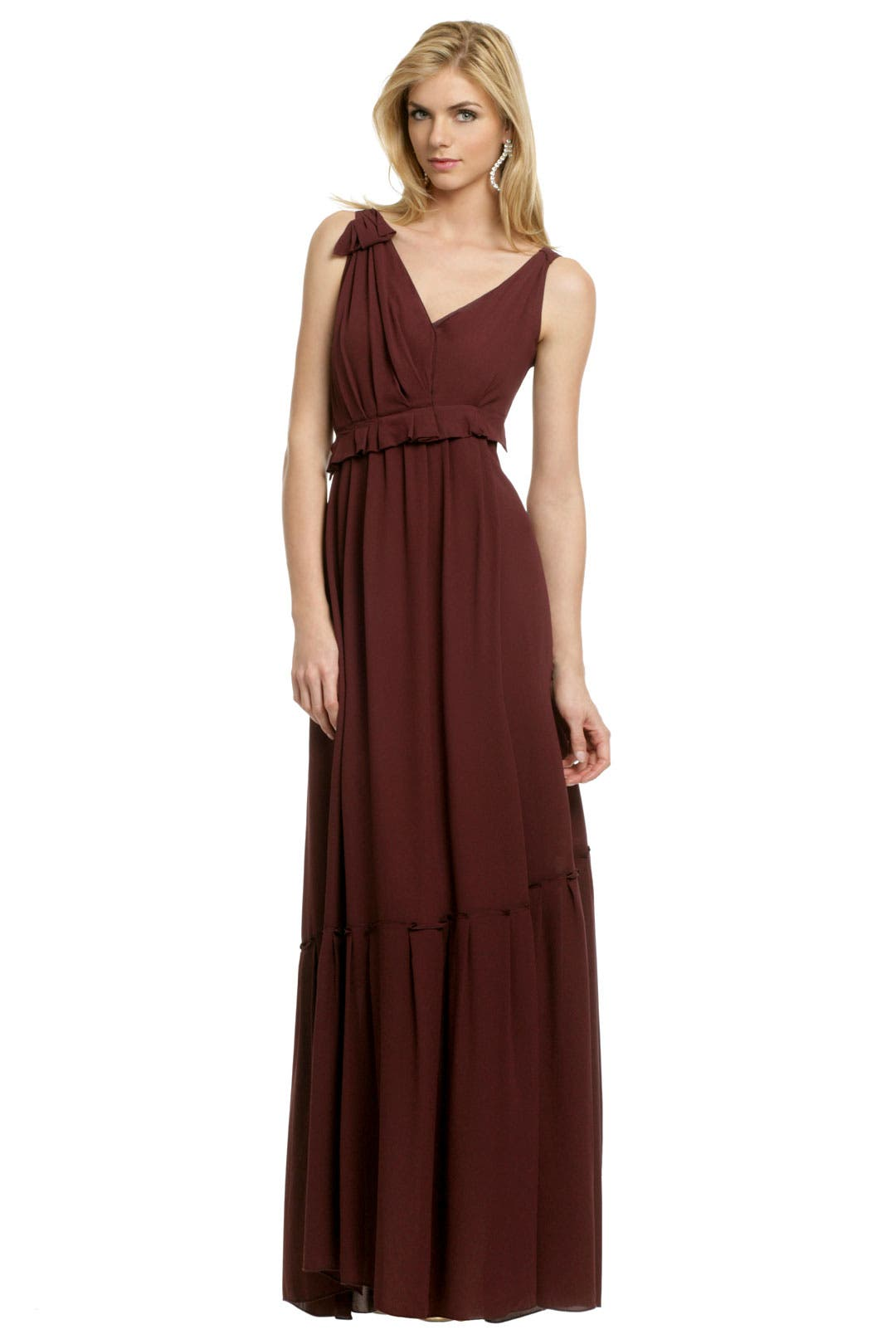 Crepe Column Gown by Nina Ricci