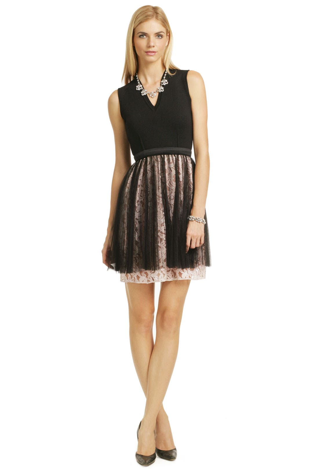 Lace Pirouette Dress by No. 21