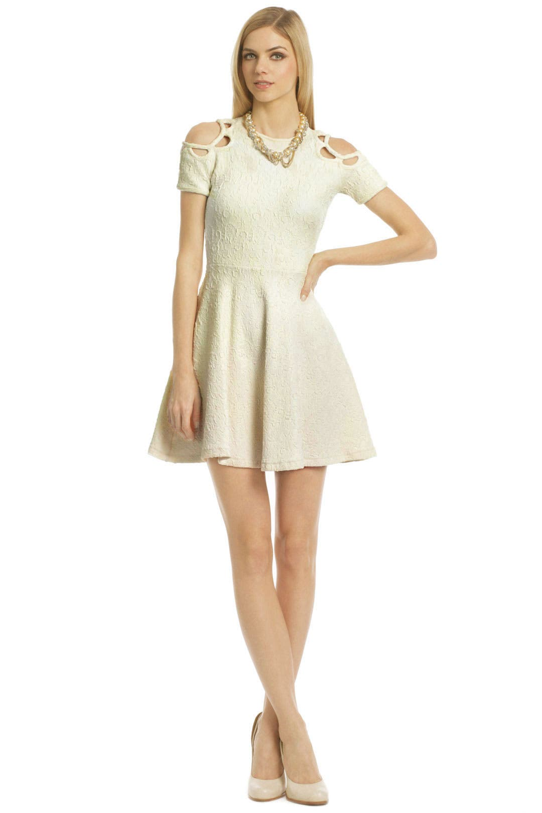 Cookie Cutter Perfection Dress by Opening Ceremony
