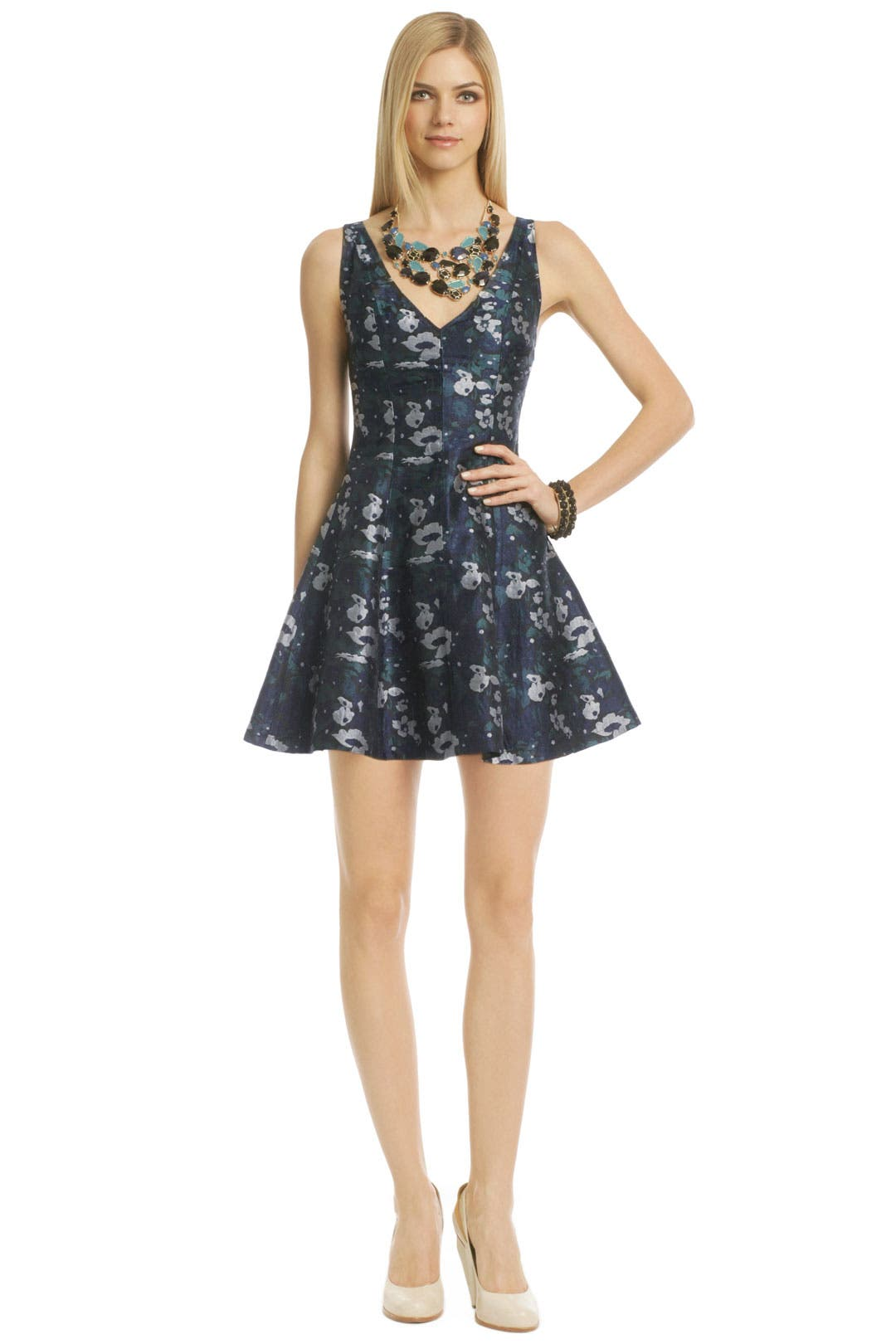 Floral Sunday Blues Dress by Opening Ceremony